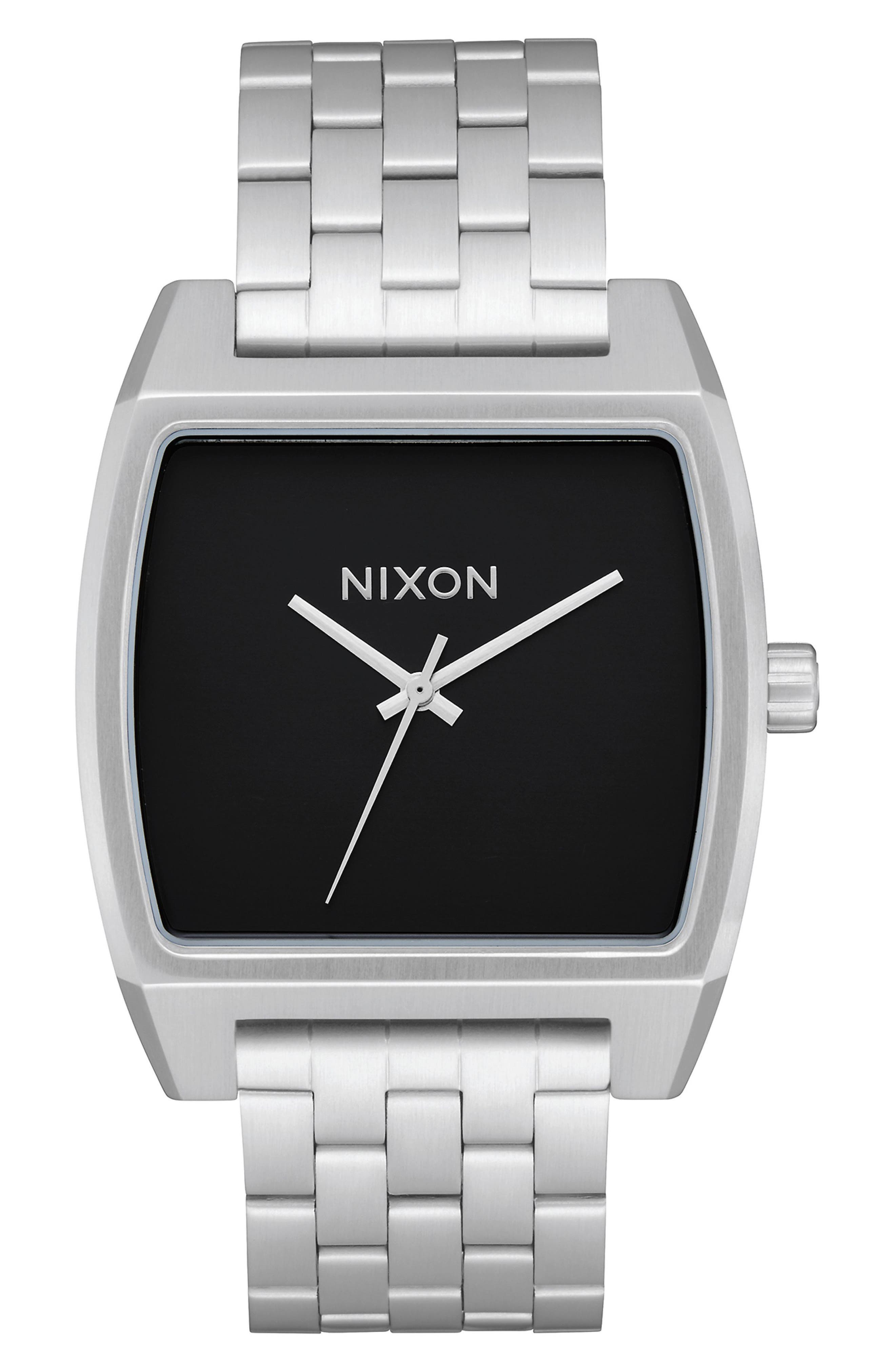 Time Tracker Bracelet Watch, 37mm,                         Main,                         color, SILVER