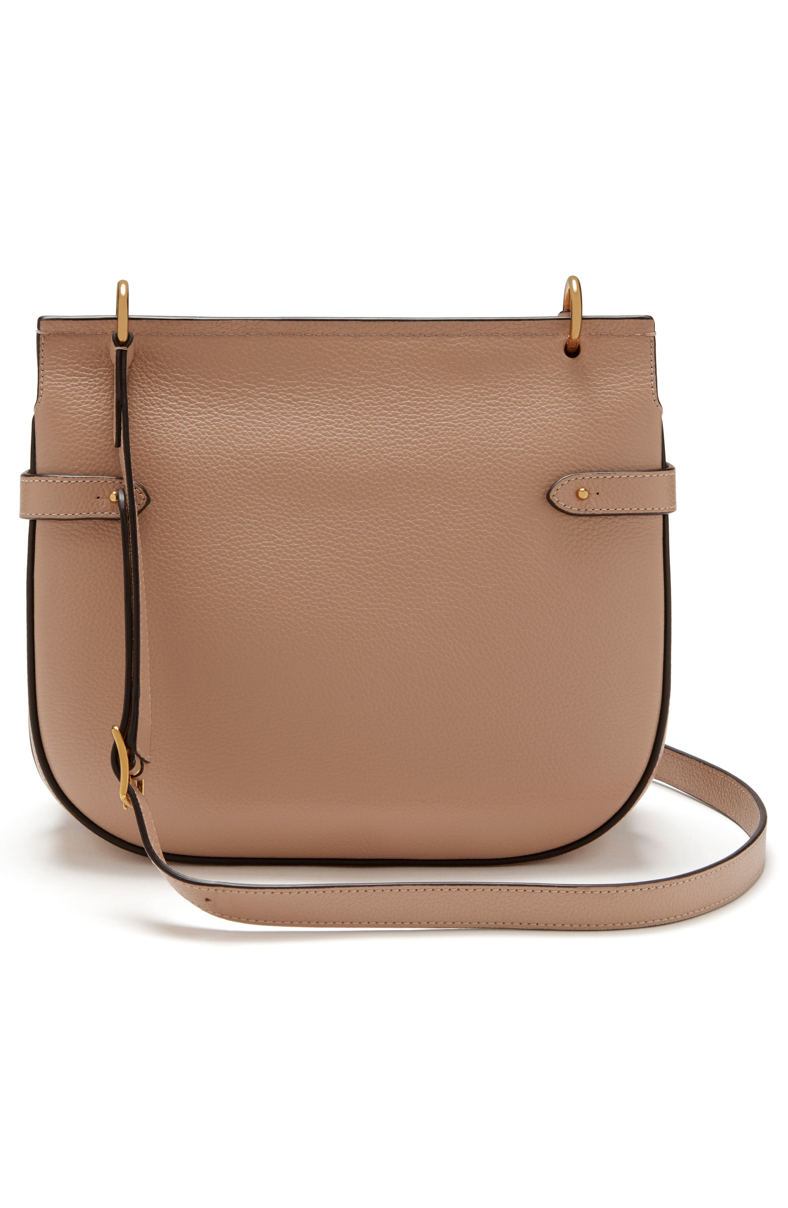 Amberley Leather Crossbody Bag,                             Alternate thumbnail 2, color,                             ROSEWATER