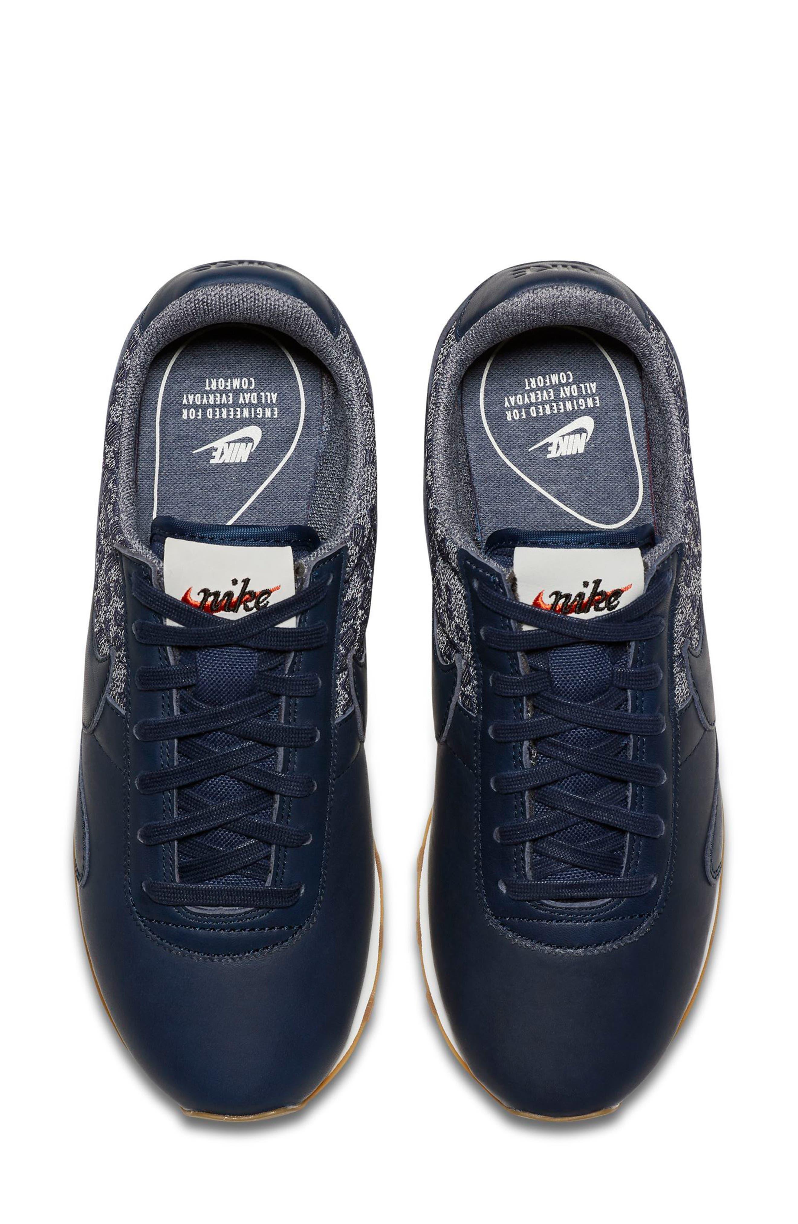 Pre Montreal Racer Vintage Sneaker,                             Alternate thumbnail 5, color,                             401