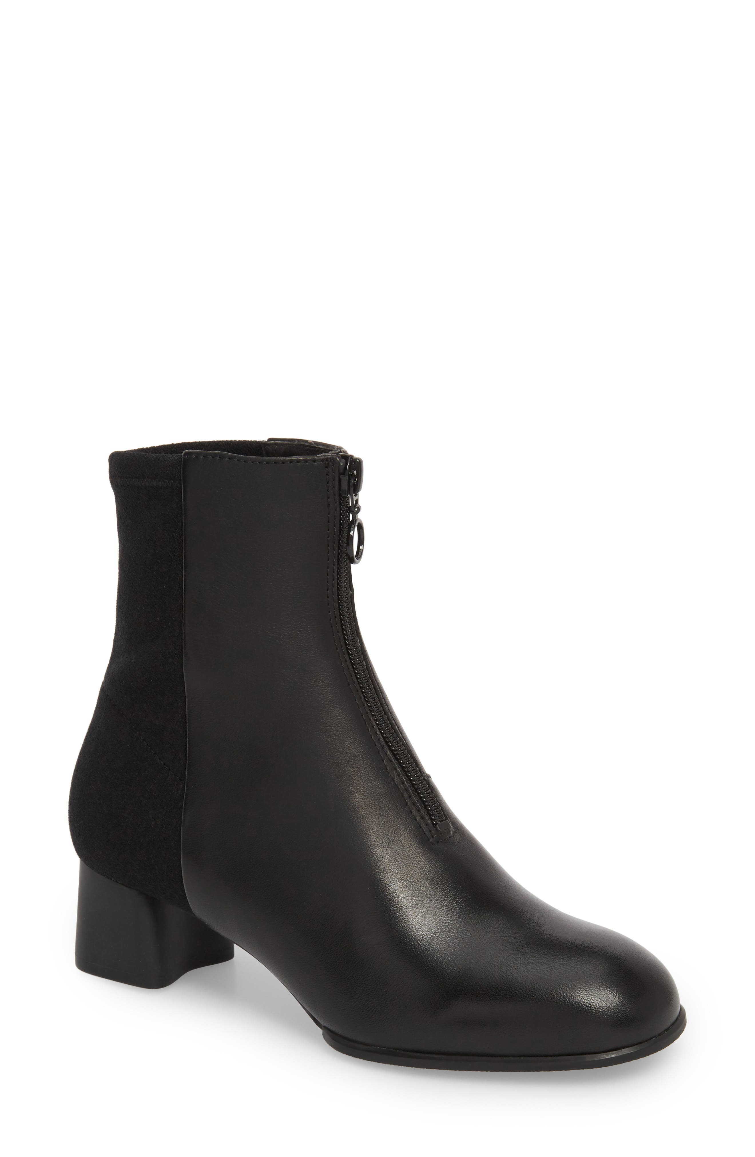 Katie Boot,                         Main,                         color, BLACK LEATHER