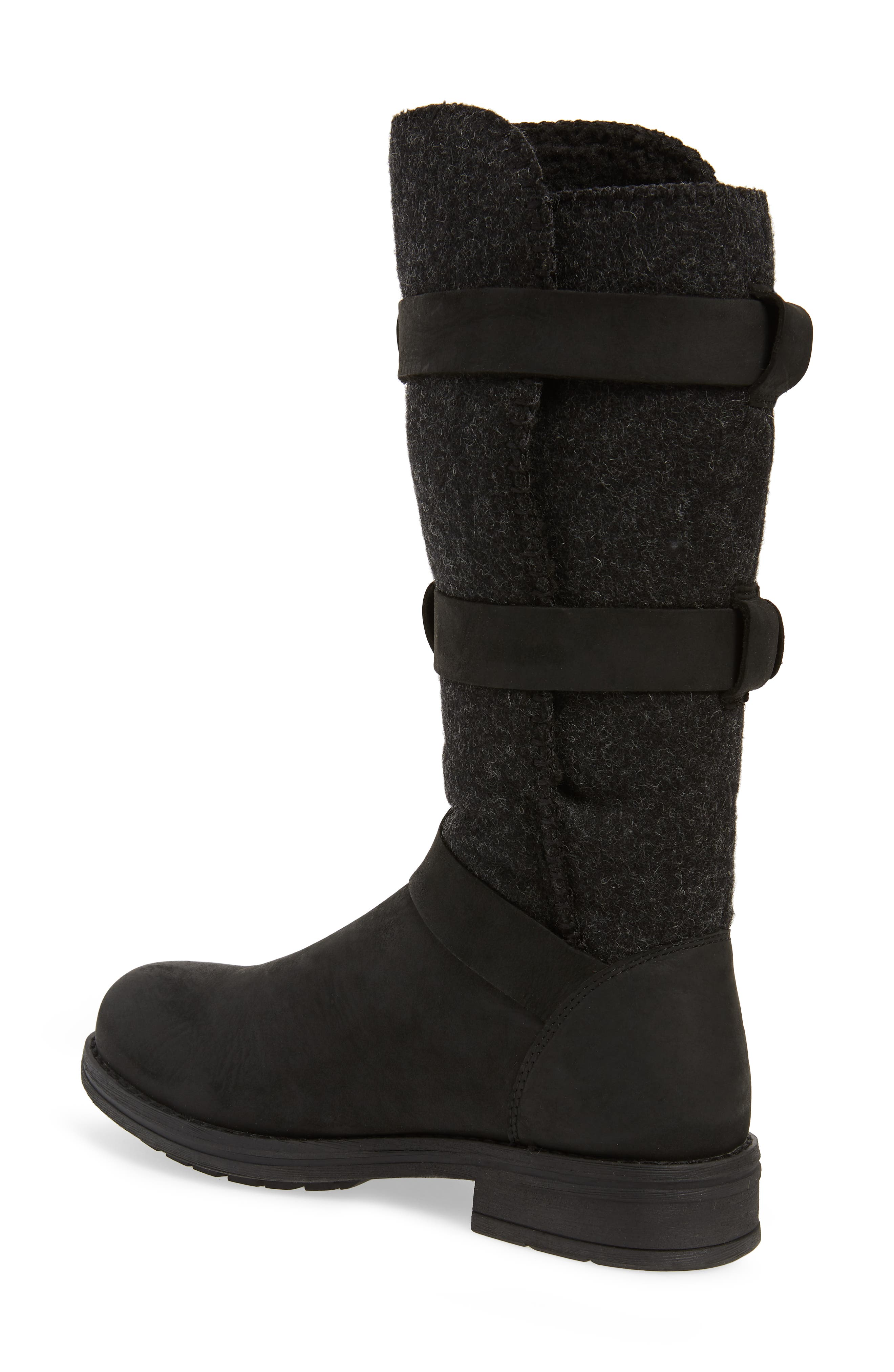 Frontier Boot,                             Alternate thumbnail 2, color,                             BLACK LEATHER
