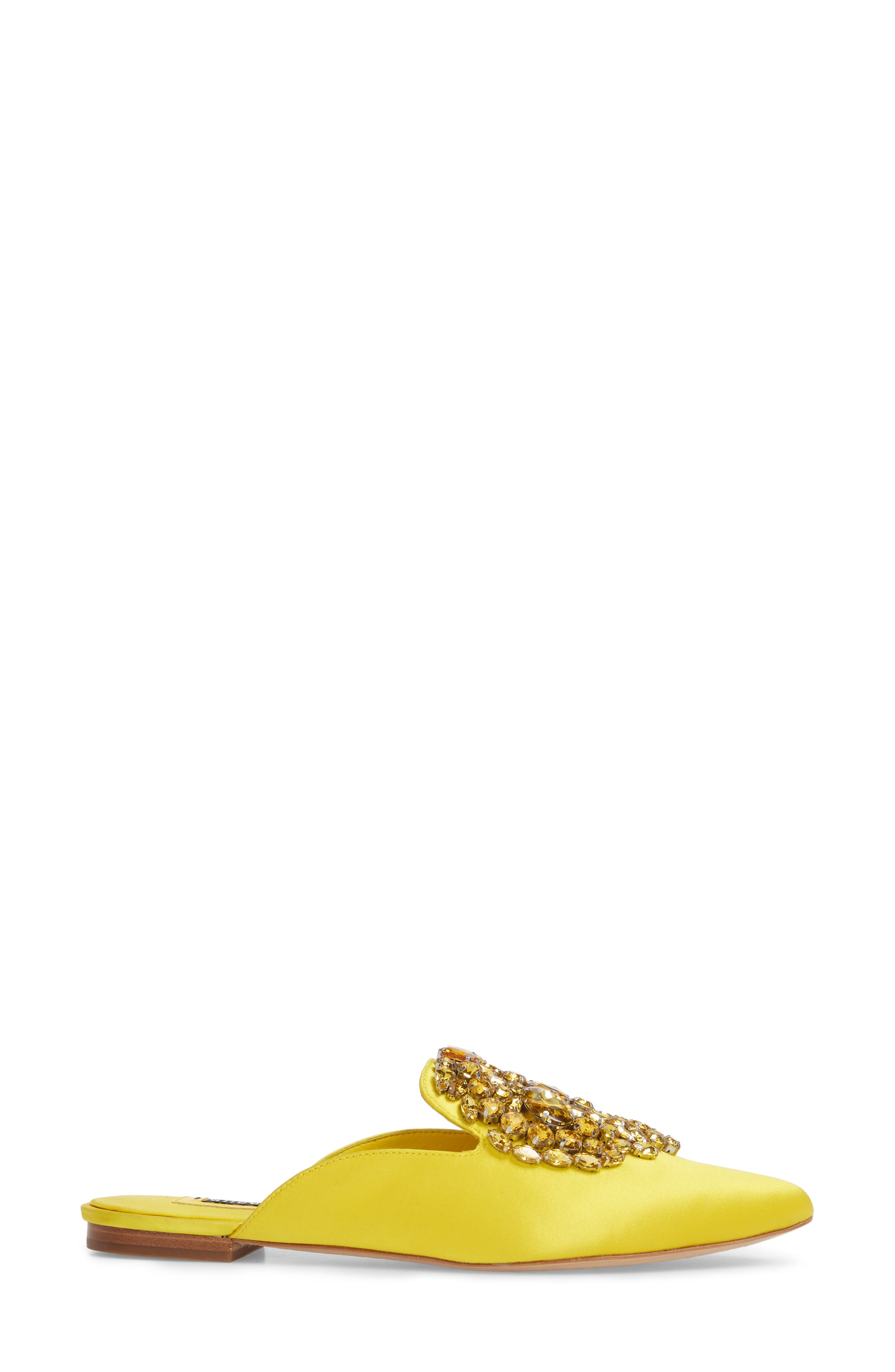 Lilly Crystal Embellished Loafer Mule,                             Alternate thumbnail 6, color,