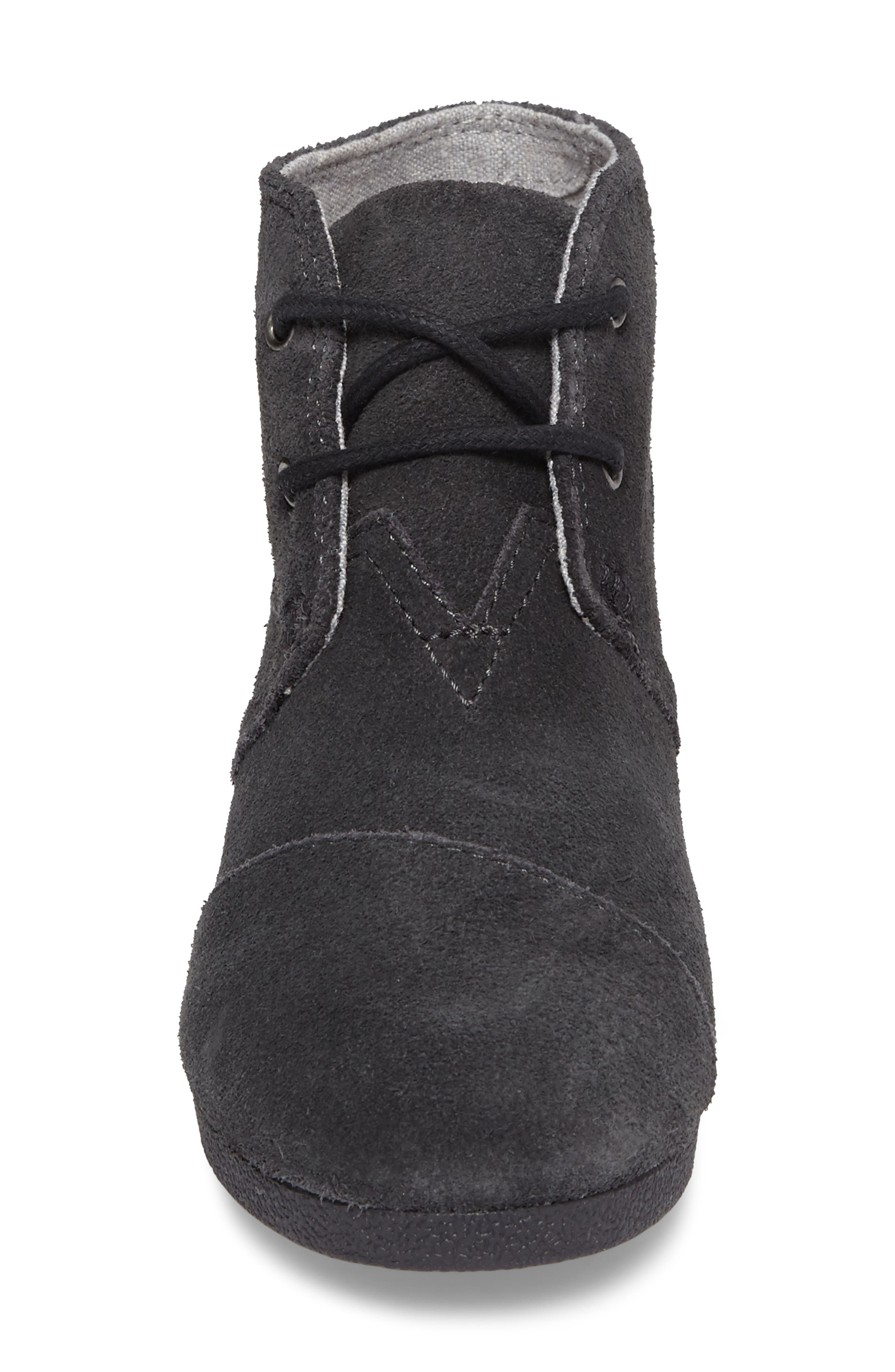 'Desert - Youth' Wedge Bootie,                             Alternate thumbnail 4, color,                             021