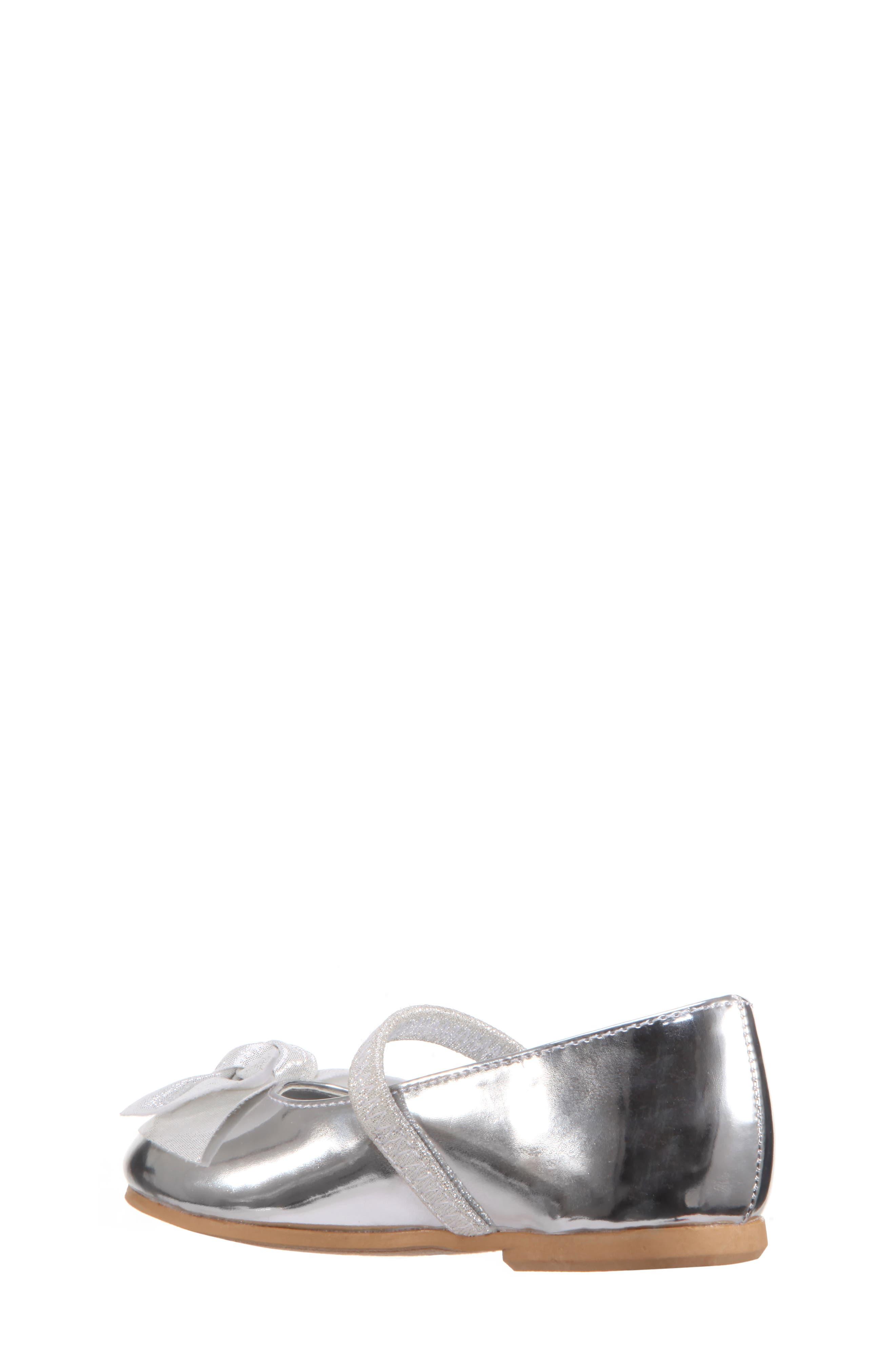 Kaytelyn-T Glitter Bow Ballet Flat,                             Alternate thumbnail 8, color,