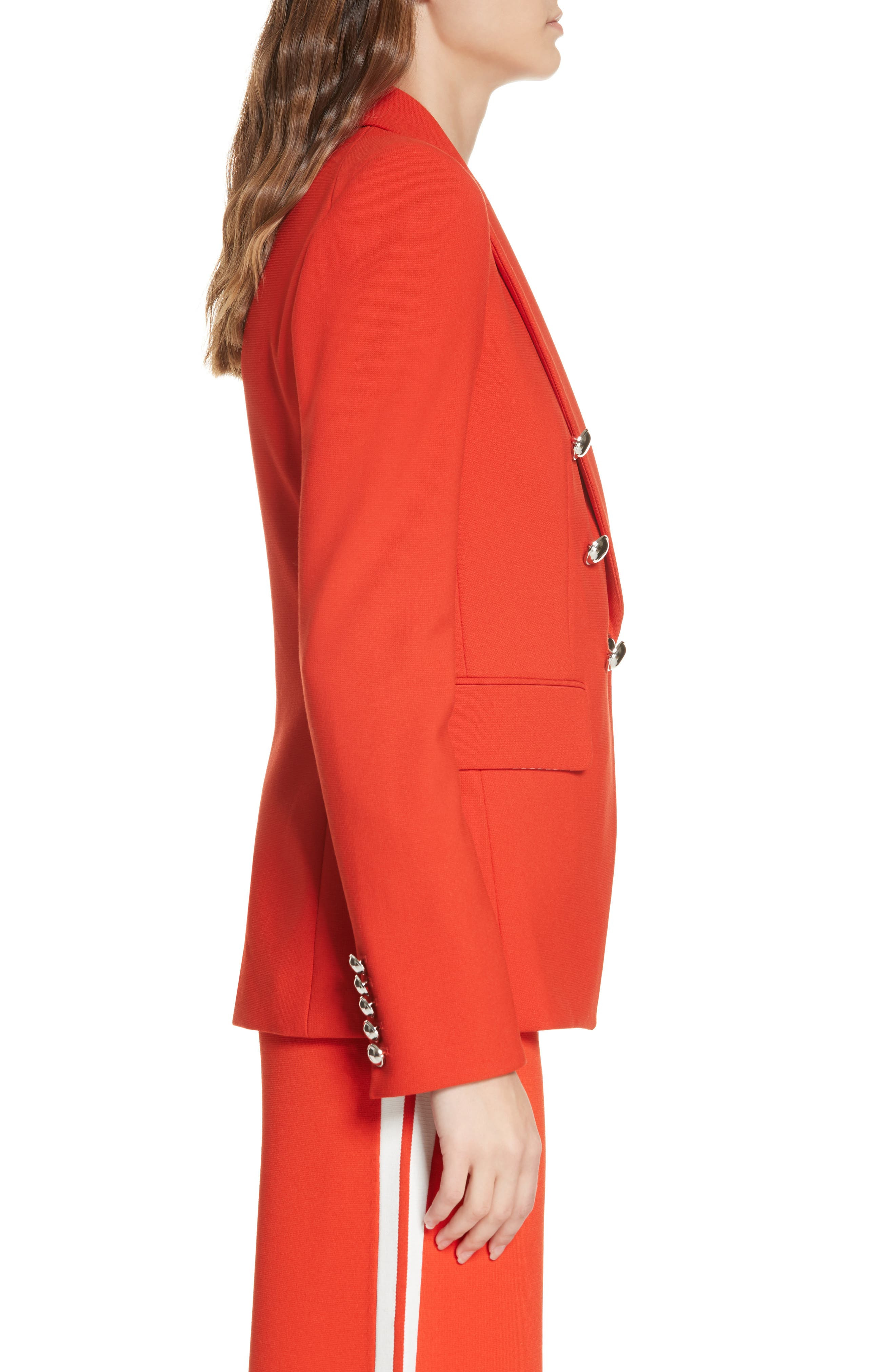Miller Dickey Jacket,                             Alternate thumbnail 3, color,                             RED