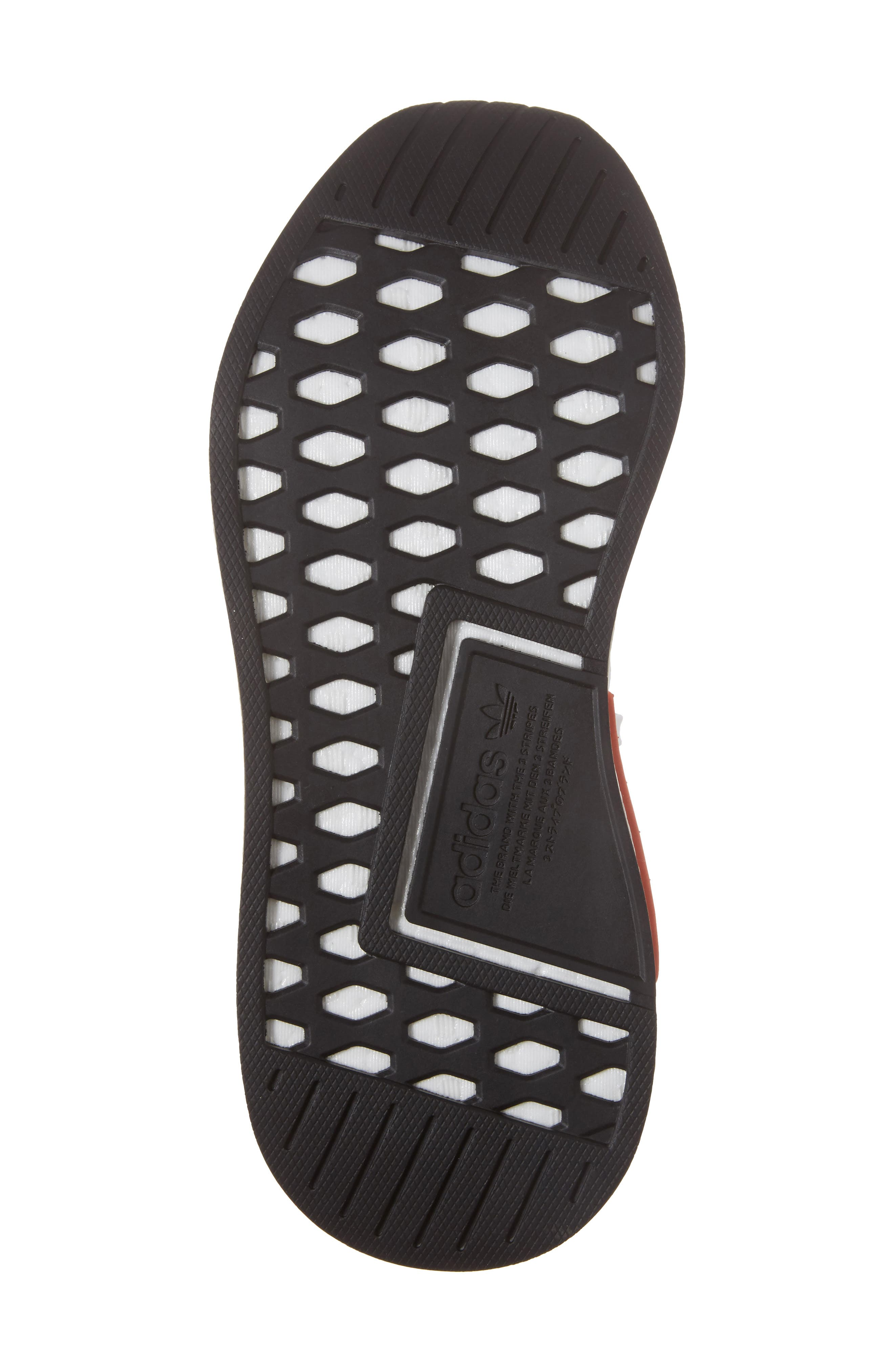 NMD R2 Primeknit Athletic Shoe,                             Alternate thumbnail 28, color,