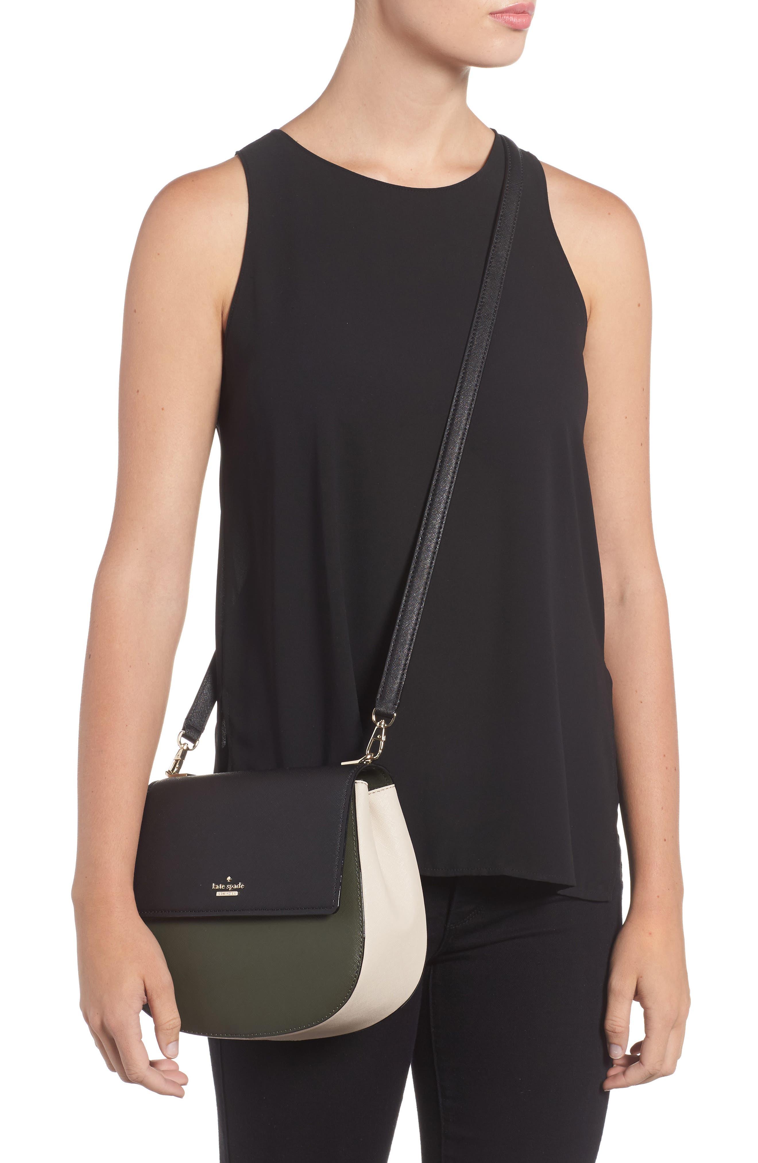 cameron street - byrdie leather crossbody bag,                             Alternate thumbnail 2, color,                             301