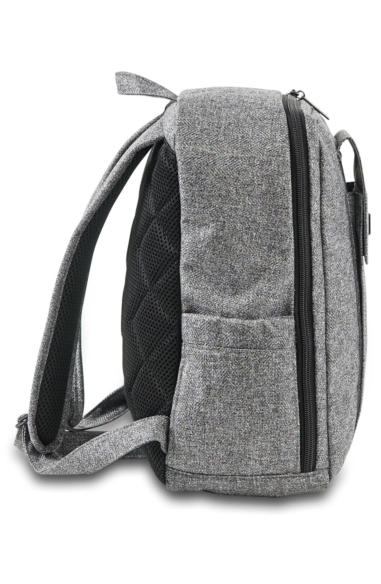 'Mini Be - Onyx Collection' Backpack,                             Alternate thumbnail 4, color,                             GRAY MATTER
