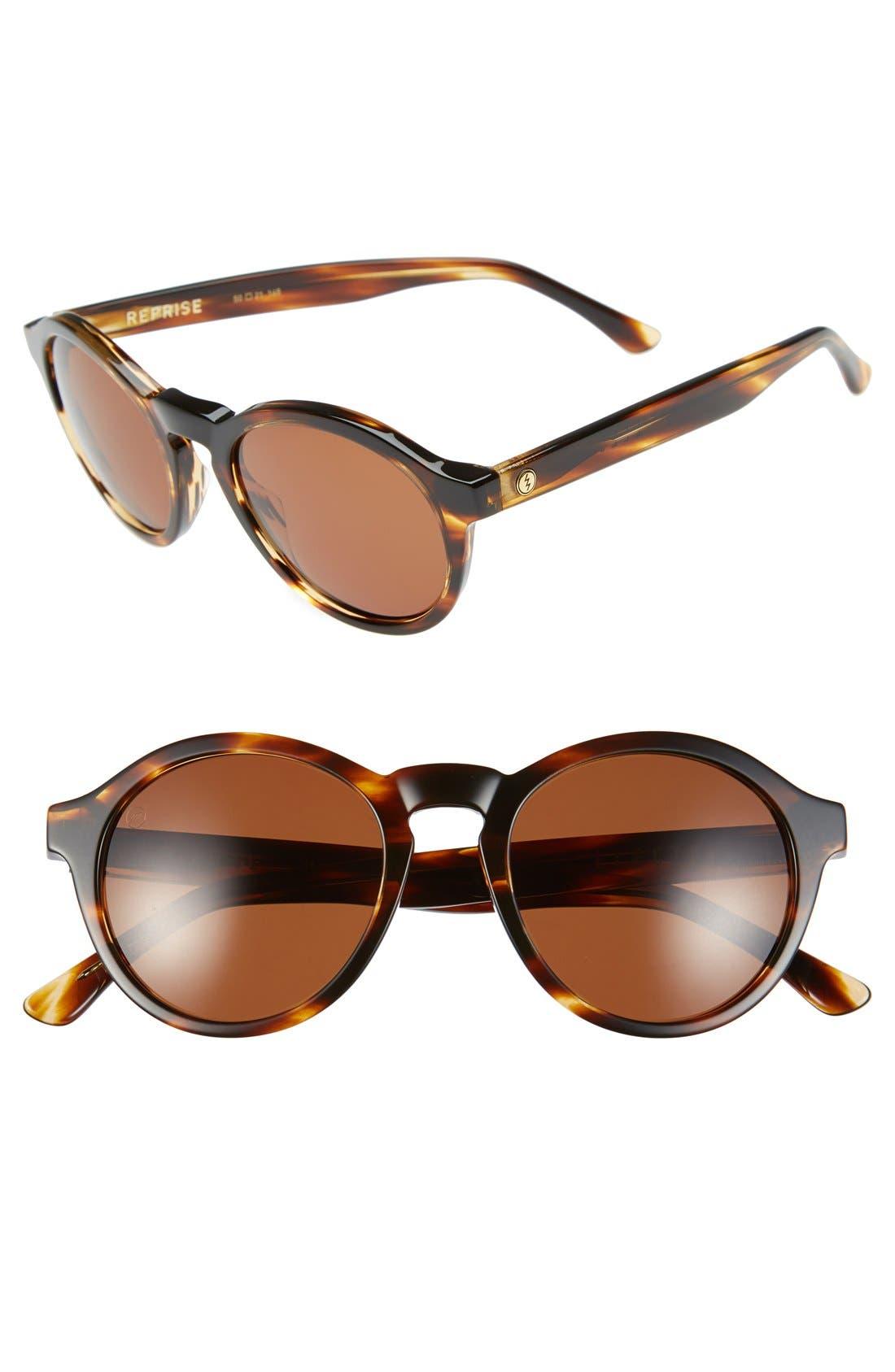 'Reprise' 50mm Round Sunglasses,                             Main thumbnail 3, color,