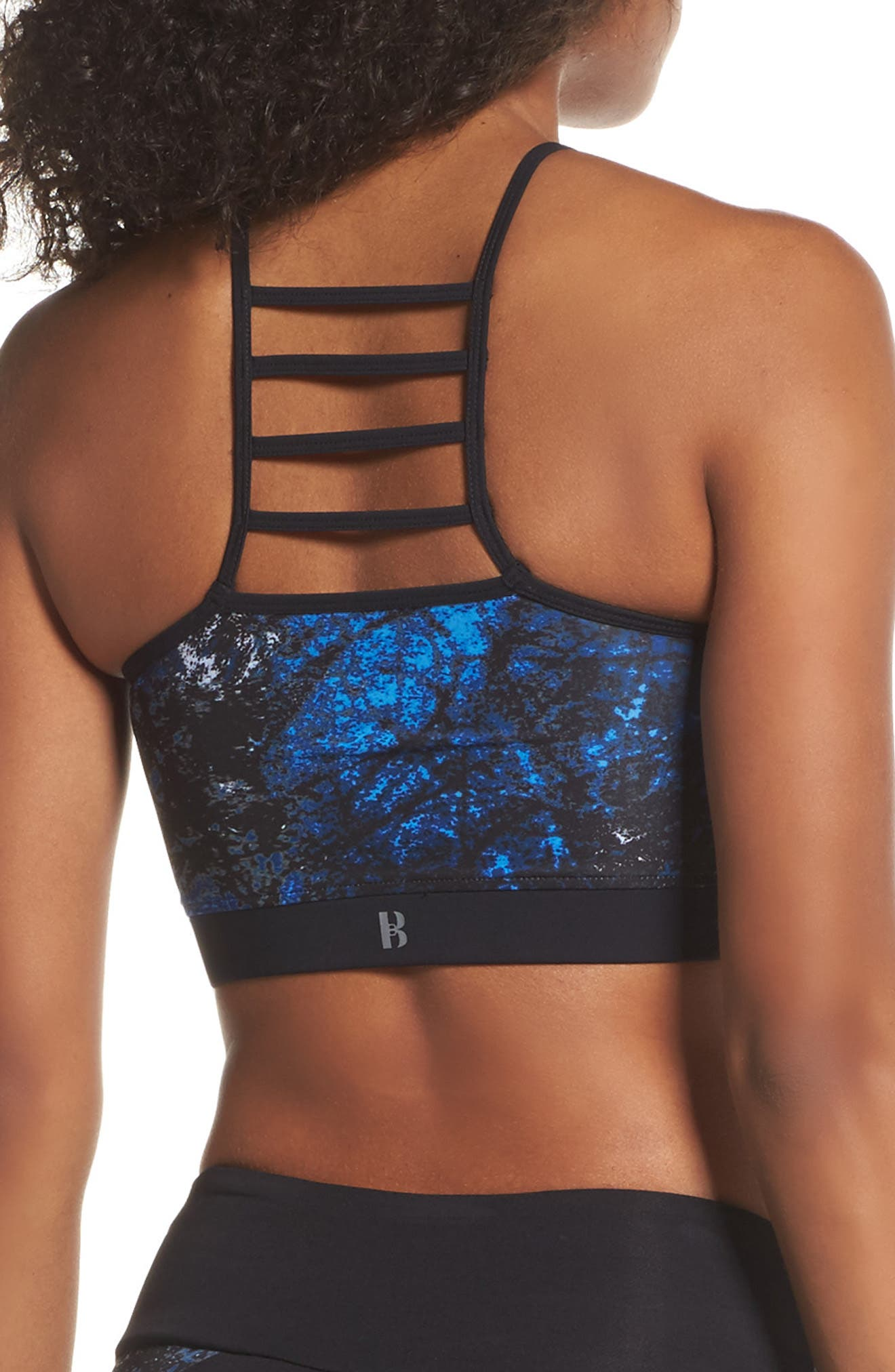 BoomBoom Athletica Cutaway Halter Crop Tank,                             Alternate thumbnail 2, color,                             405