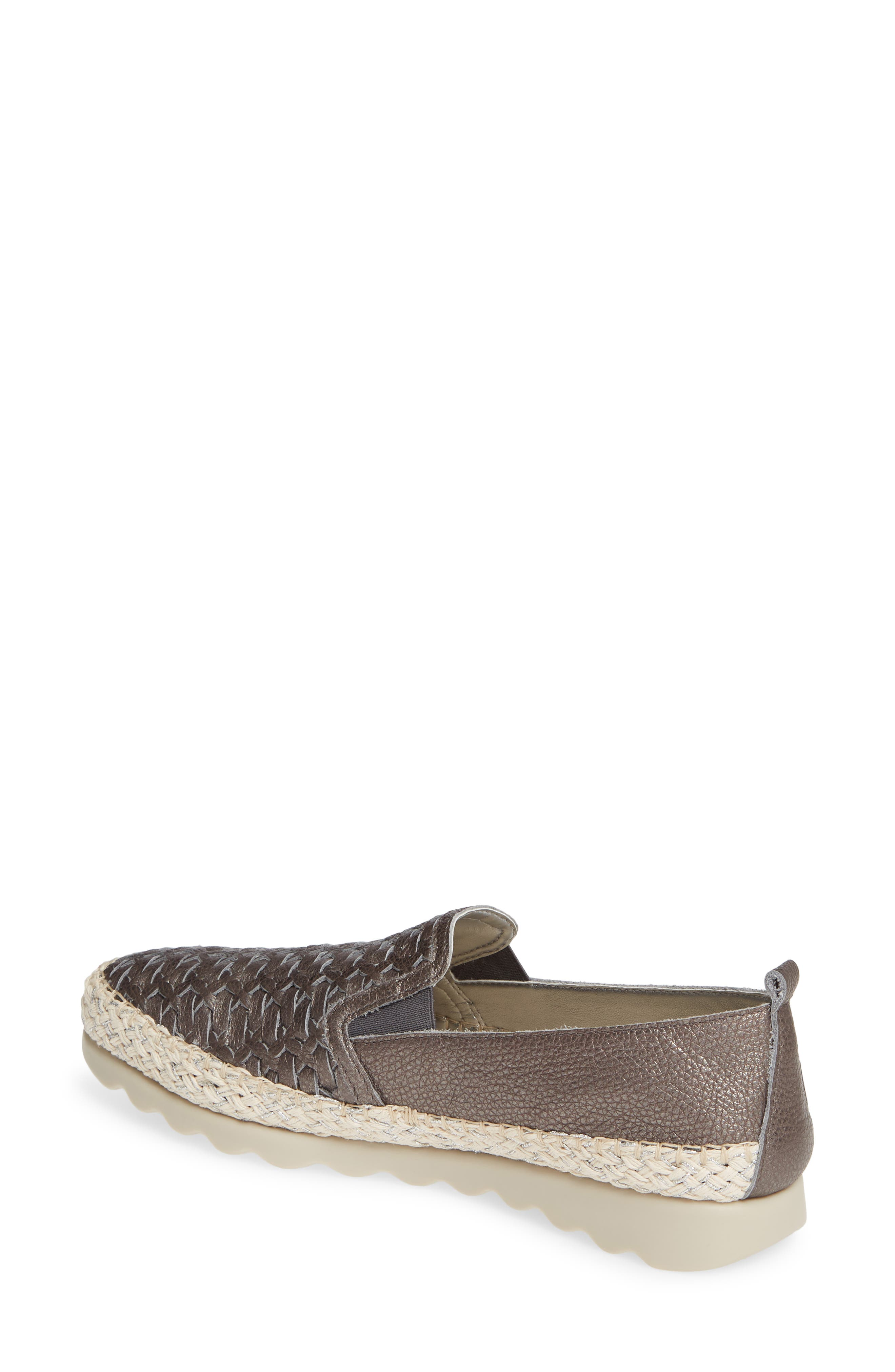 Chapter Woven Slip-On Sneaker,                             Alternate thumbnail 2, color,                             CANNA DI FUCILE CURTIS LEATHER