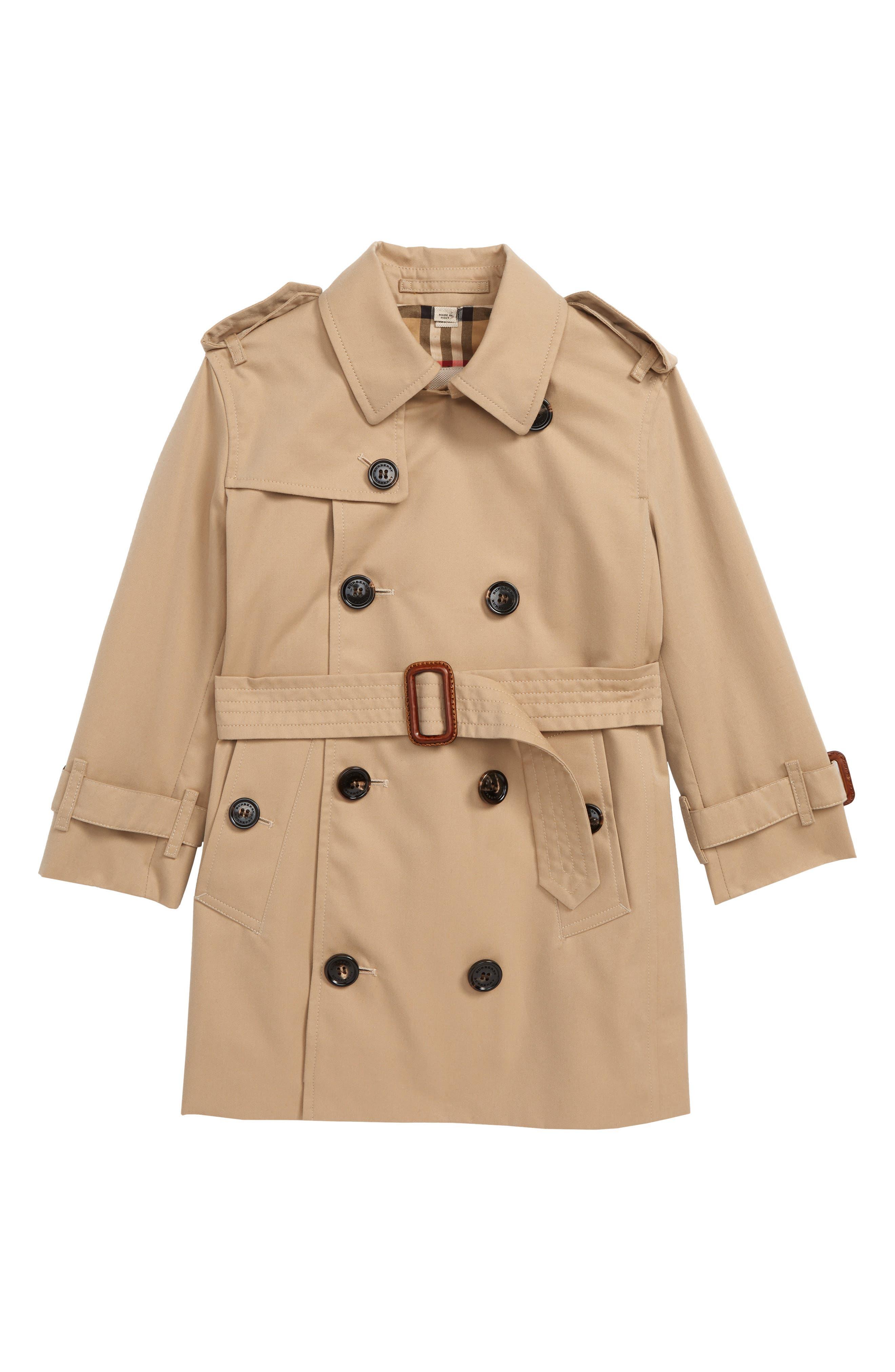 Mayfair Trench Coat,                             Main thumbnail 1, color,                             HONEY