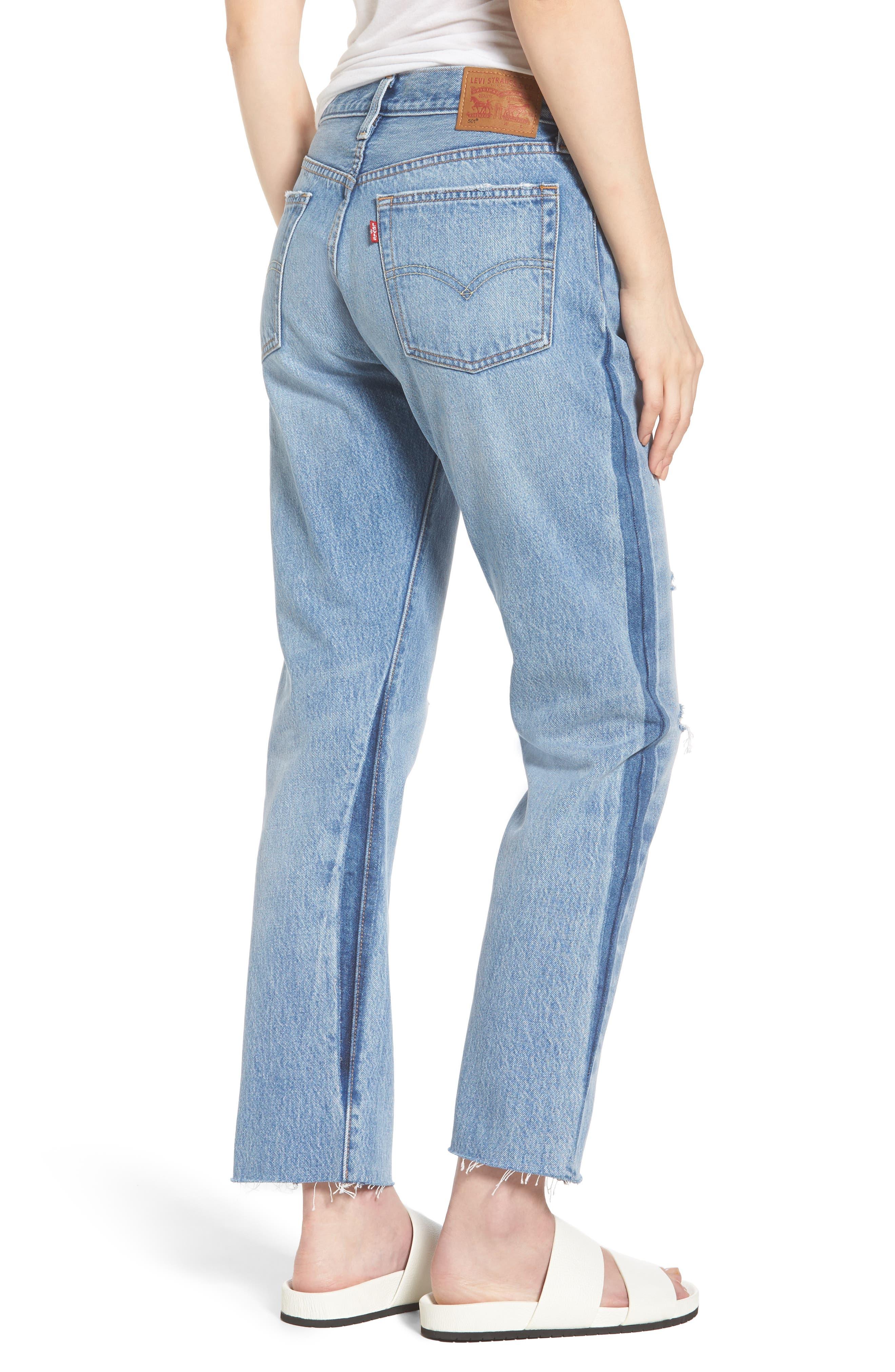 501 Crop Jeans,                             Alternate thumbnail 2, color,                             420