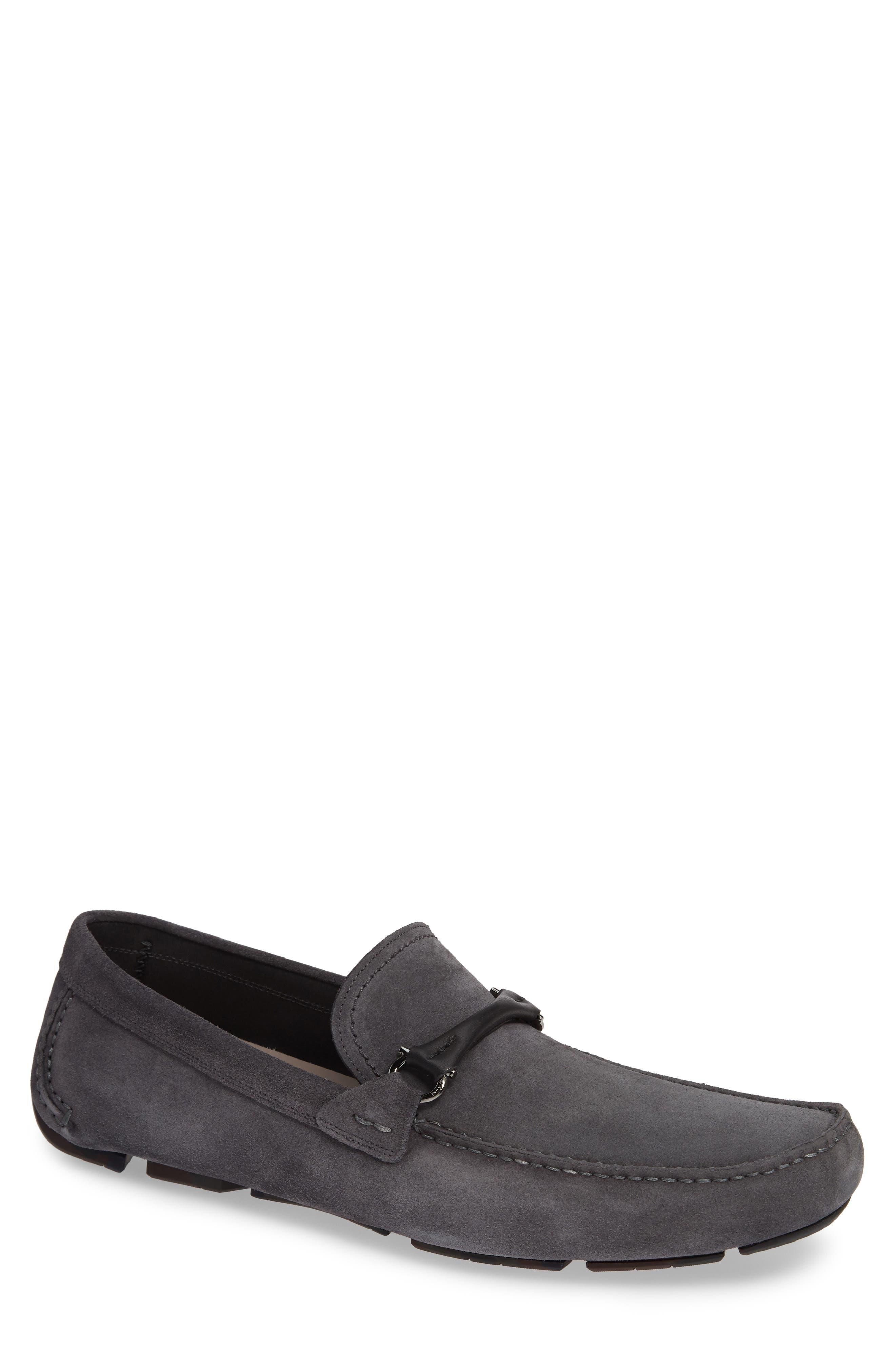 SALVATORE FERRAGAMO GranprixDriving Shoe, Main, color, AMALFI SUEDE