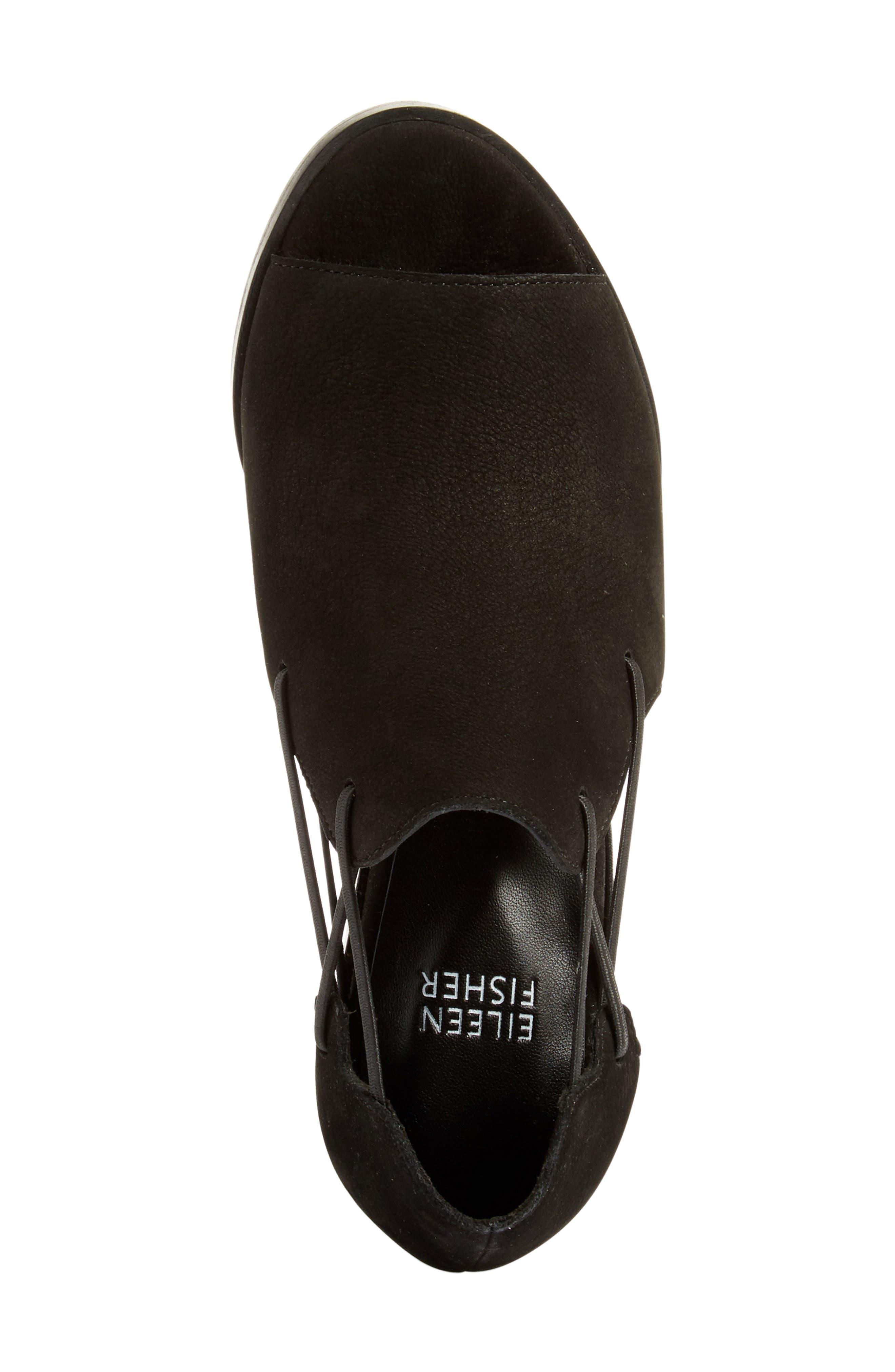 Nikki Peep Toe Sandal,                             Alternate thumbnail 3, color,                             001