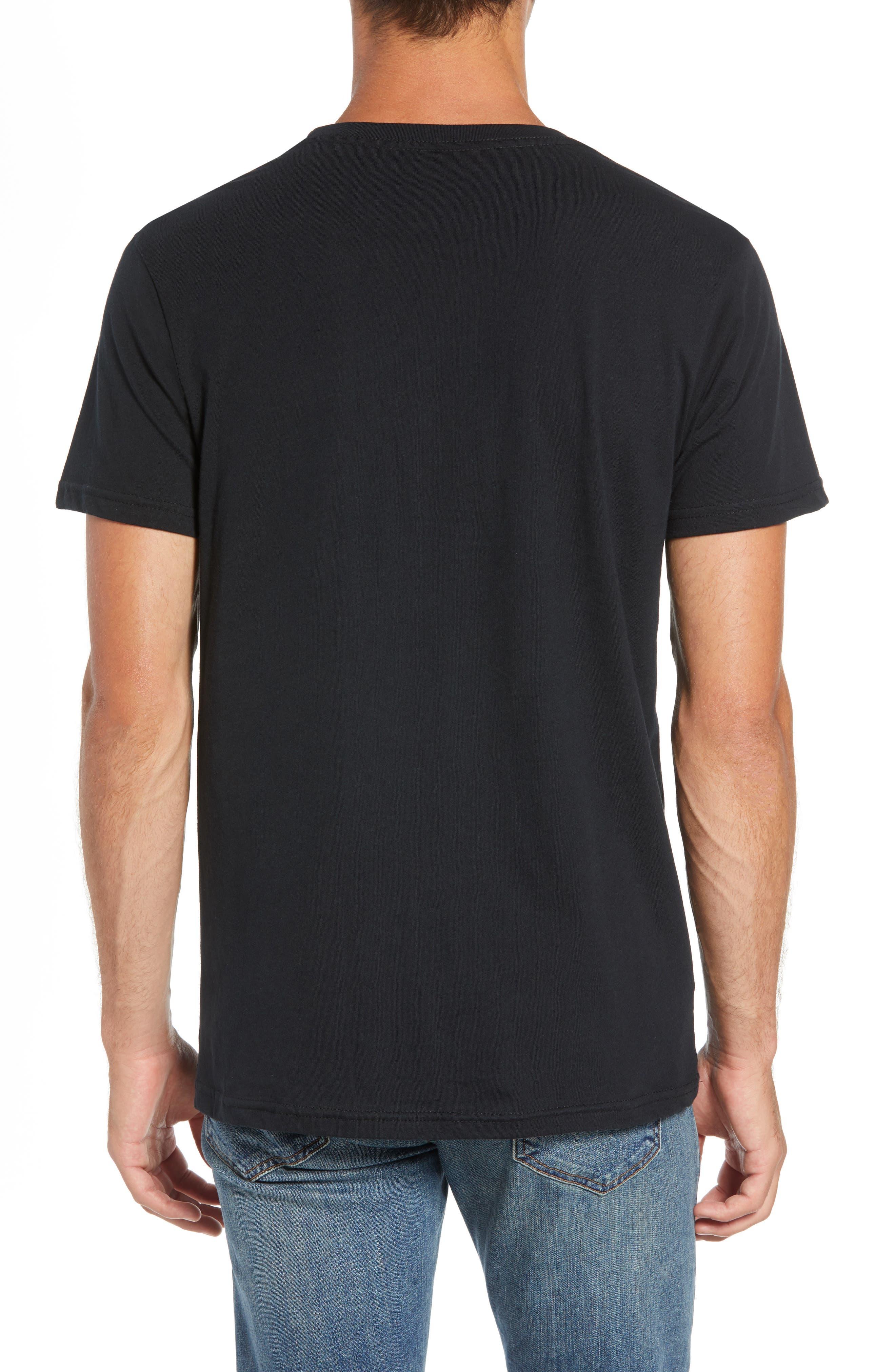 Fitz Roy Scope Crewneck T-Shirt,                             Alternate thumbnail 2, color,                             BLACK