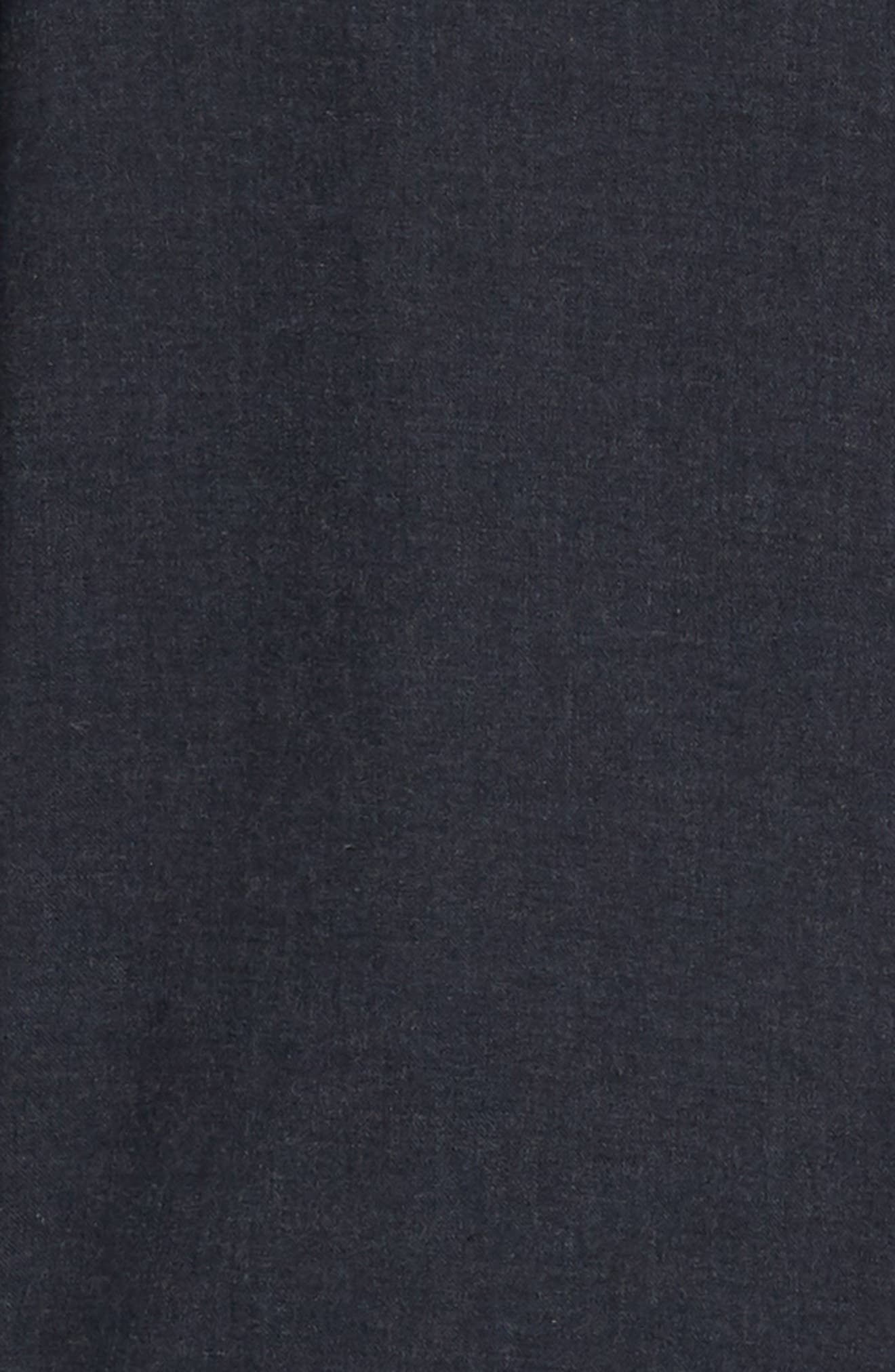 Hefe Regular Fit Flannel Sport Shirt,                             Alternate thumbnail 6, color,                             BLUE NIGHTS