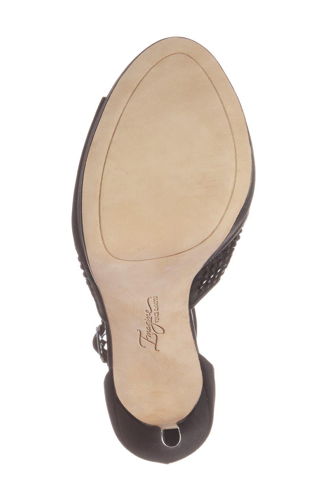 'Keir' T-Strap Platform Sandal,                             Alternate thumbnail 8, color,