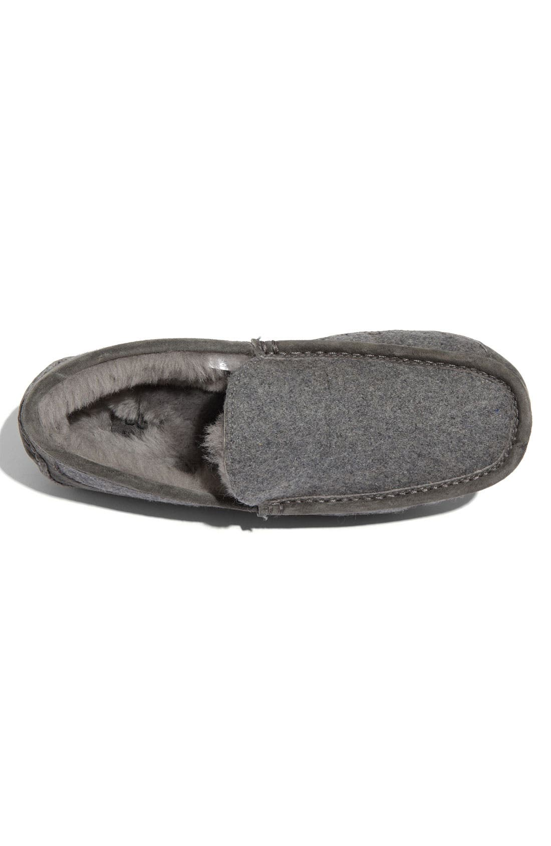 Australia 'Ascot' Wool Slipper,                             Alternate thumbnail 4, color,                             027