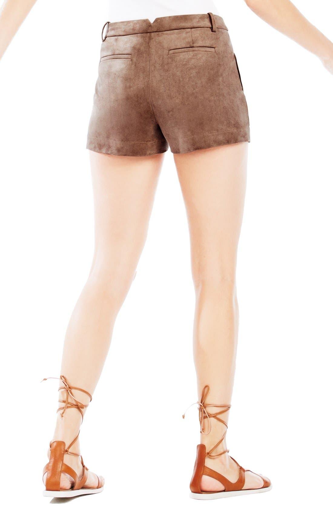 'Sergio' Faux Suede Shorts,                             Alternate thumbnail 2, color,                             249