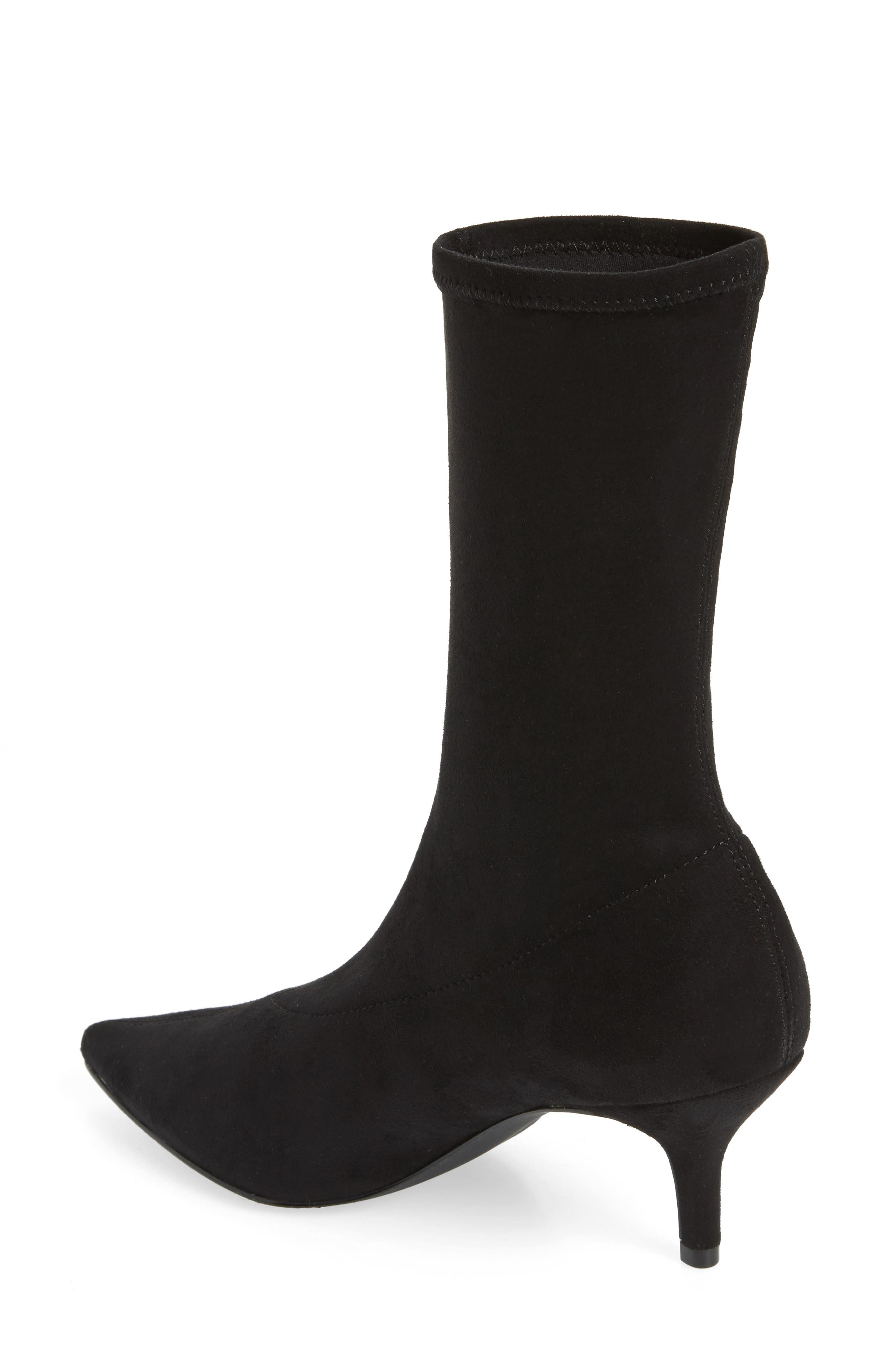 Ramone Floral Sock Bootie,                             Alternate thumbnail 2, color,                             001