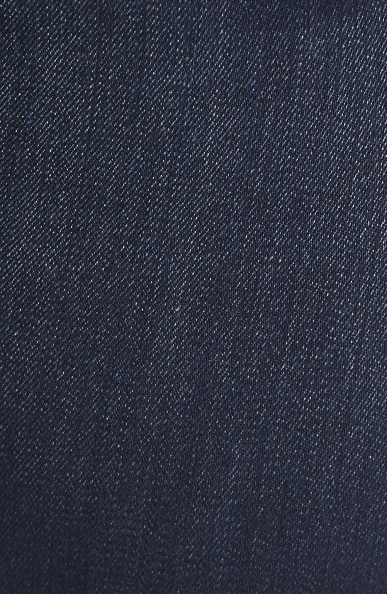 Emmanuelle Slim Bootcut Jeans,                             Alternate thumbnail 5, color,                             405