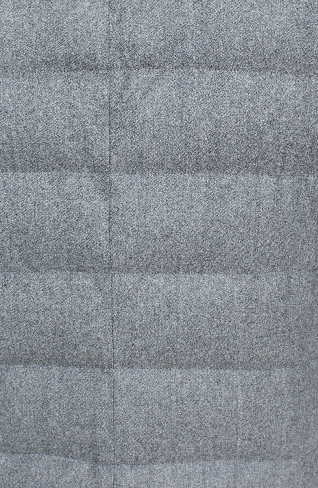 'Vallier' Quilted Wool Down Topcoat,                             Alternate thumbnail 3, color,                             032