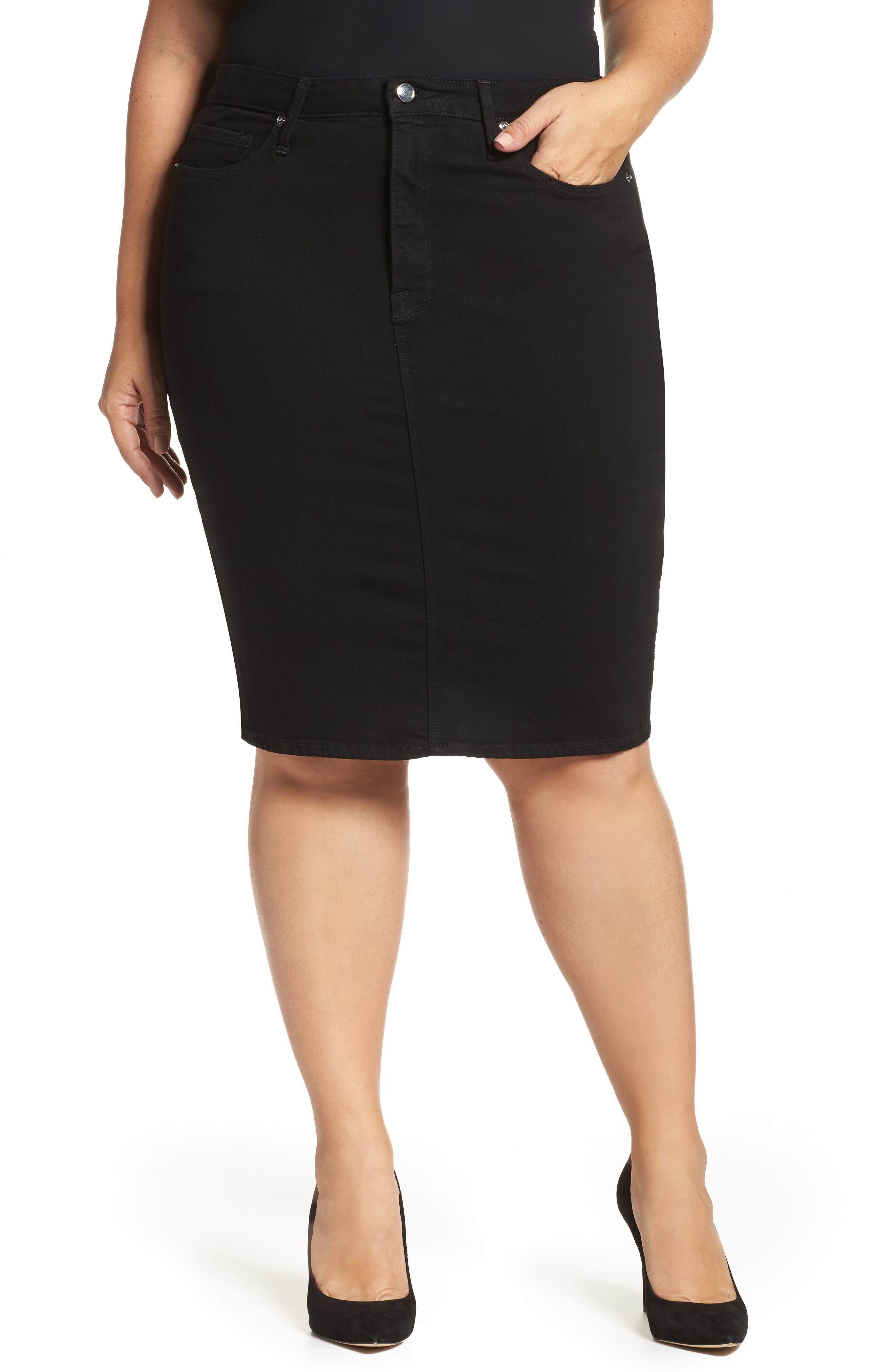 The Pencil Skirt,                             Main thumbnail 1, color,                             001