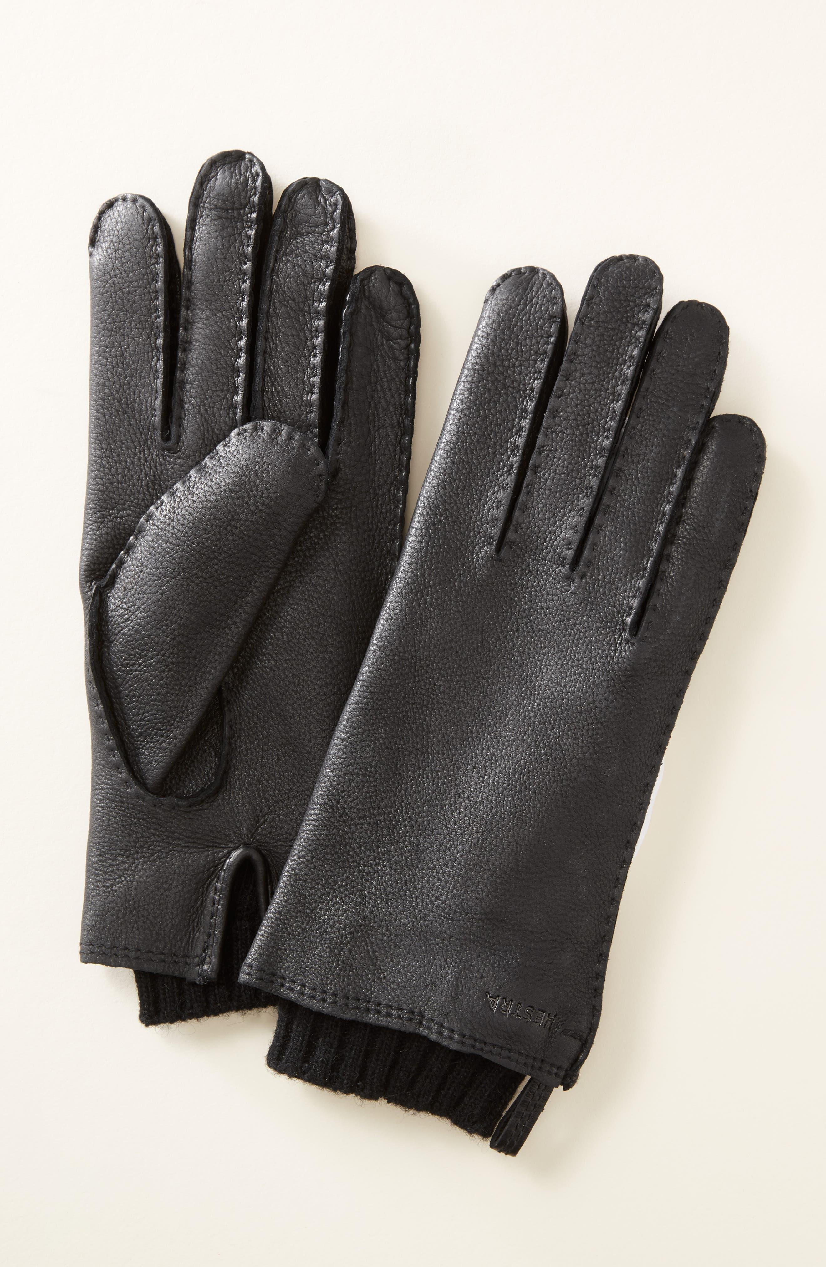 'Tony' Deerksin Leather Gloves,                         Main,                         color, 202