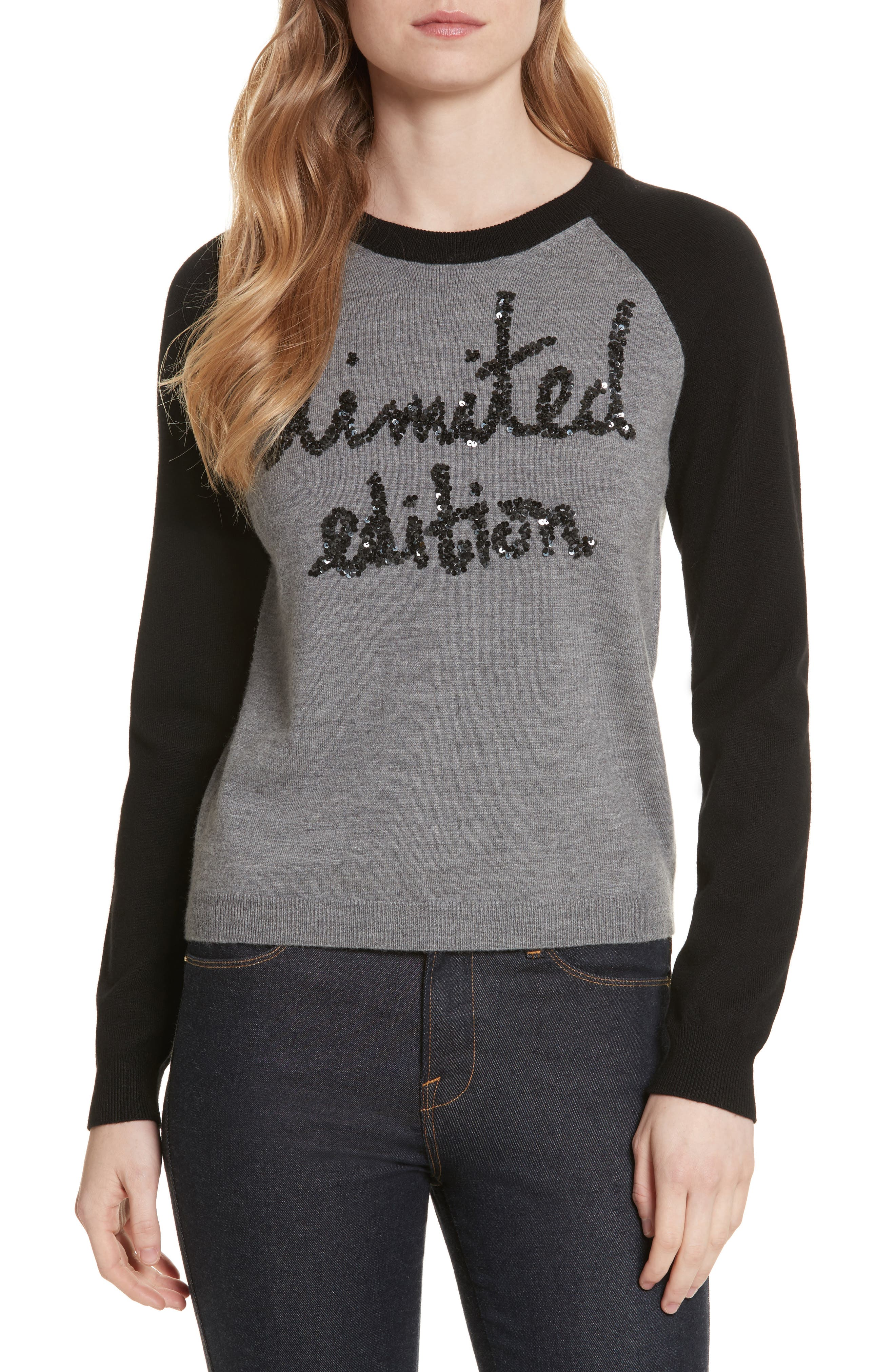 Gretta Limited Edition Pullover,                             Main thumbnail 1, color,                             007