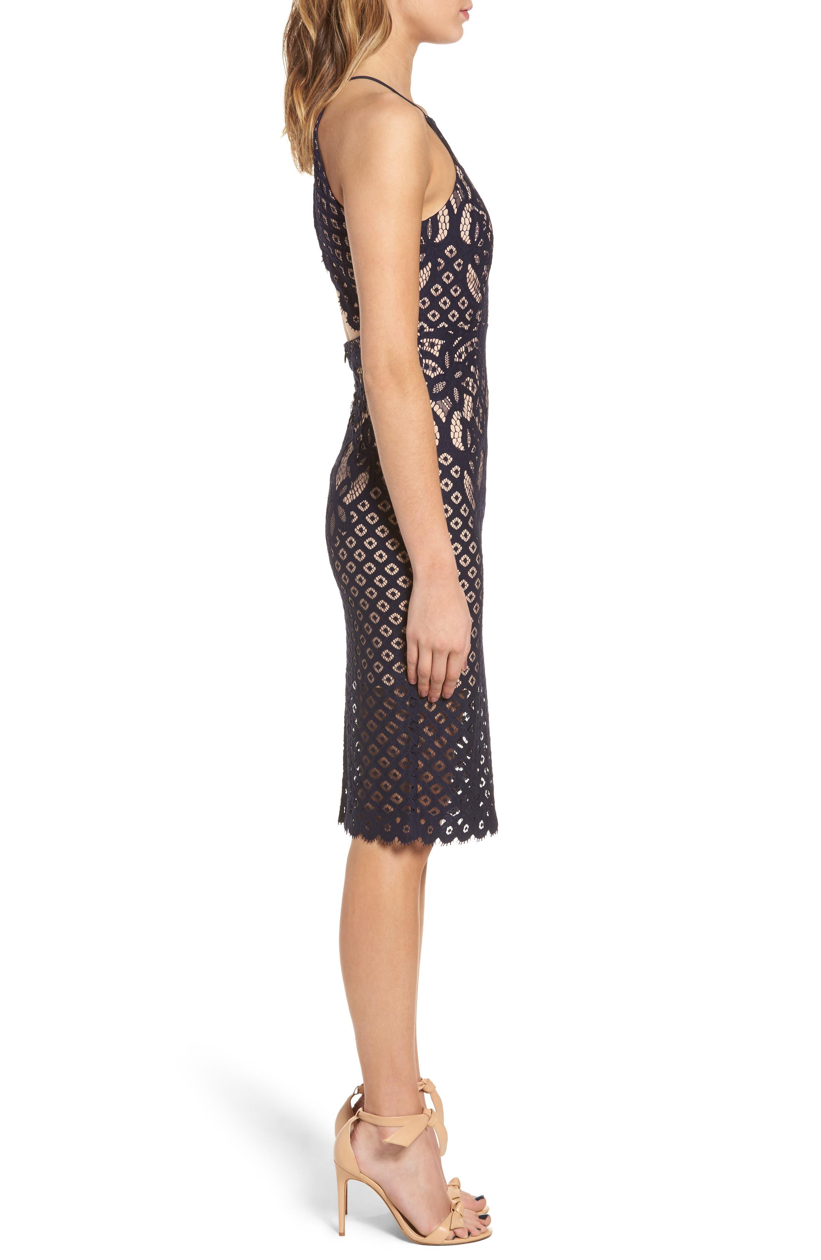 Mila Lace Dress,                             Alternate thumbnail 6, color,