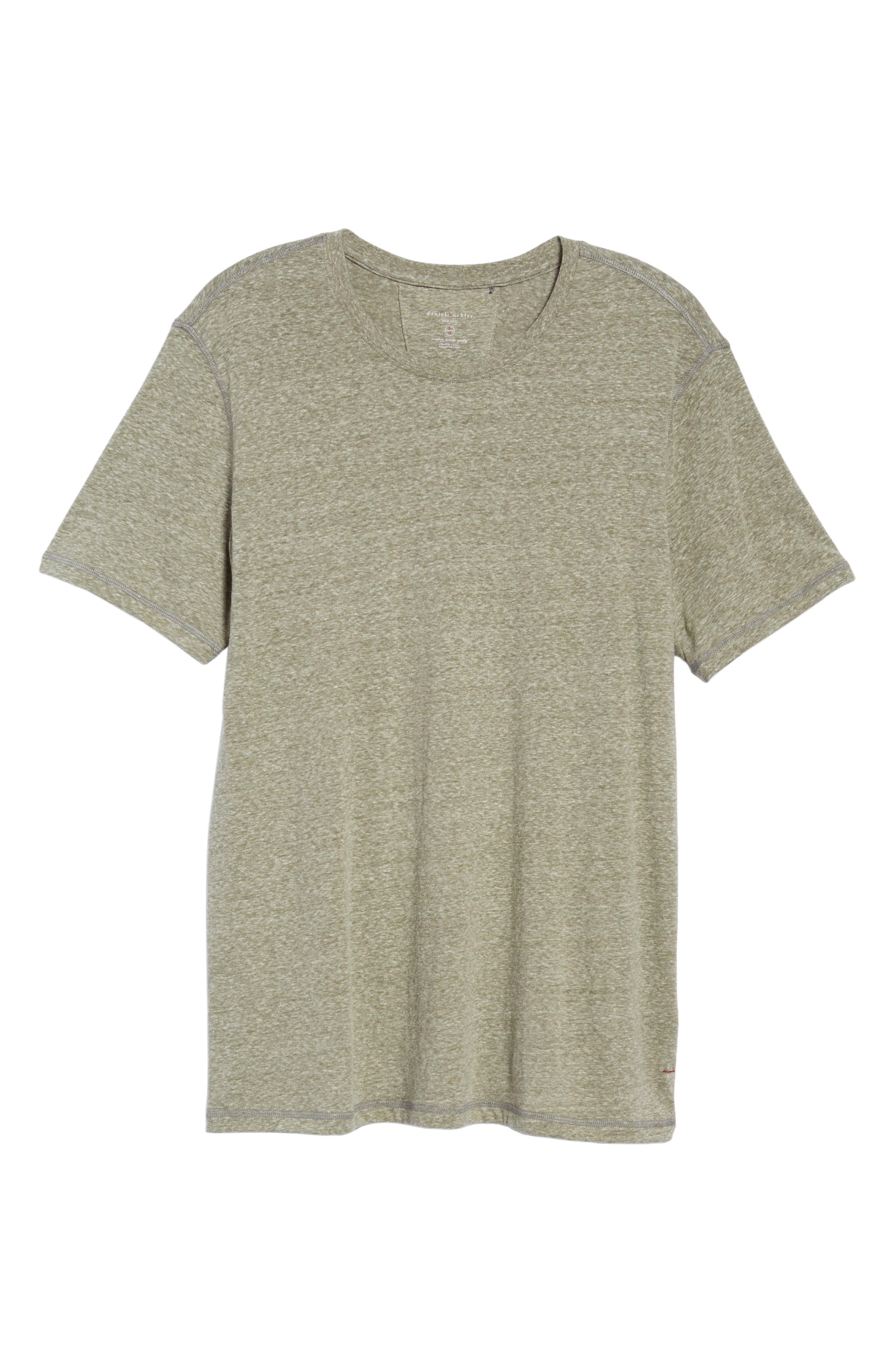 Cotton Blend T-Shirt,                             Alternate thumbnail 6, color,                             301
