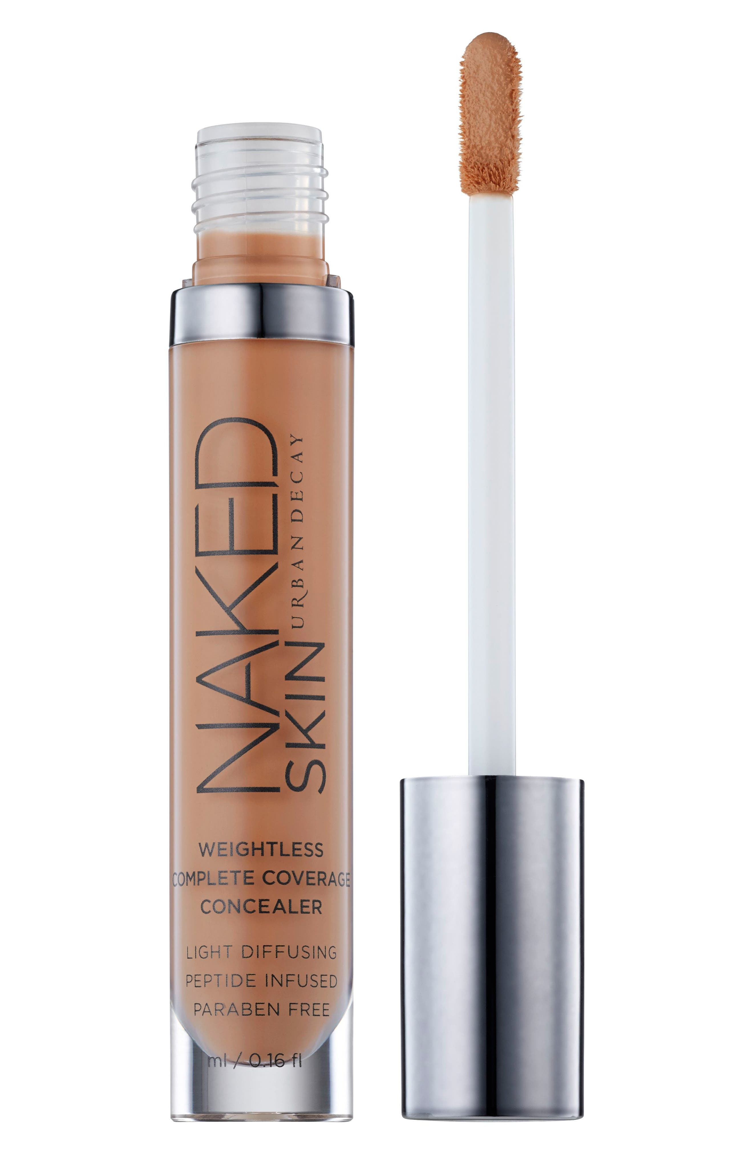 URBAN DECAY,                             Naked Skin Weightless Complete Coverage Concealer,                             Alternate thumbnail 2, color,                             DARK GOLDEN