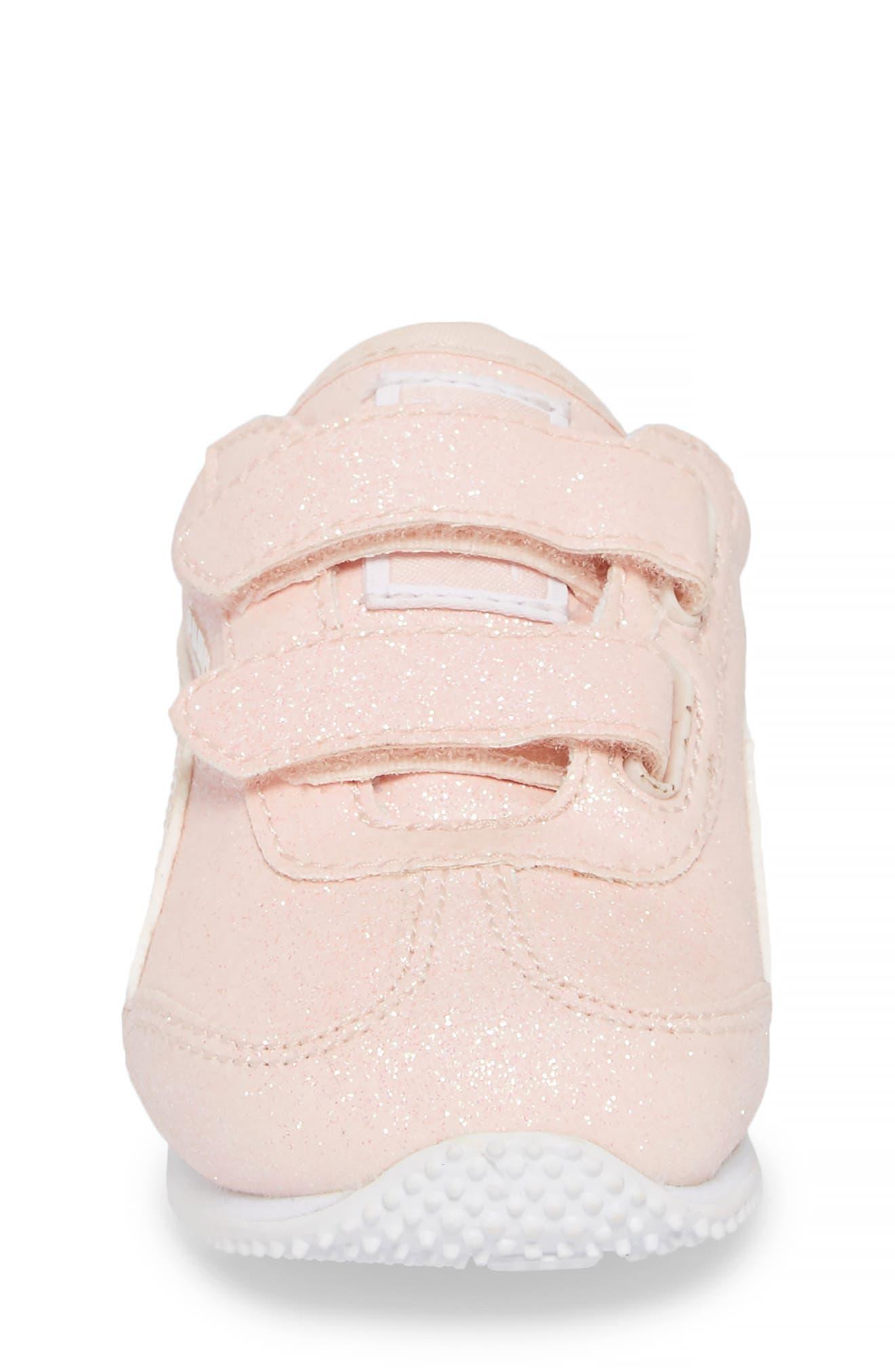 Whirlwind Glitz Sneaker,                             Alternate thumbnail 4, color,                             PEARL/ PUMA WHITE