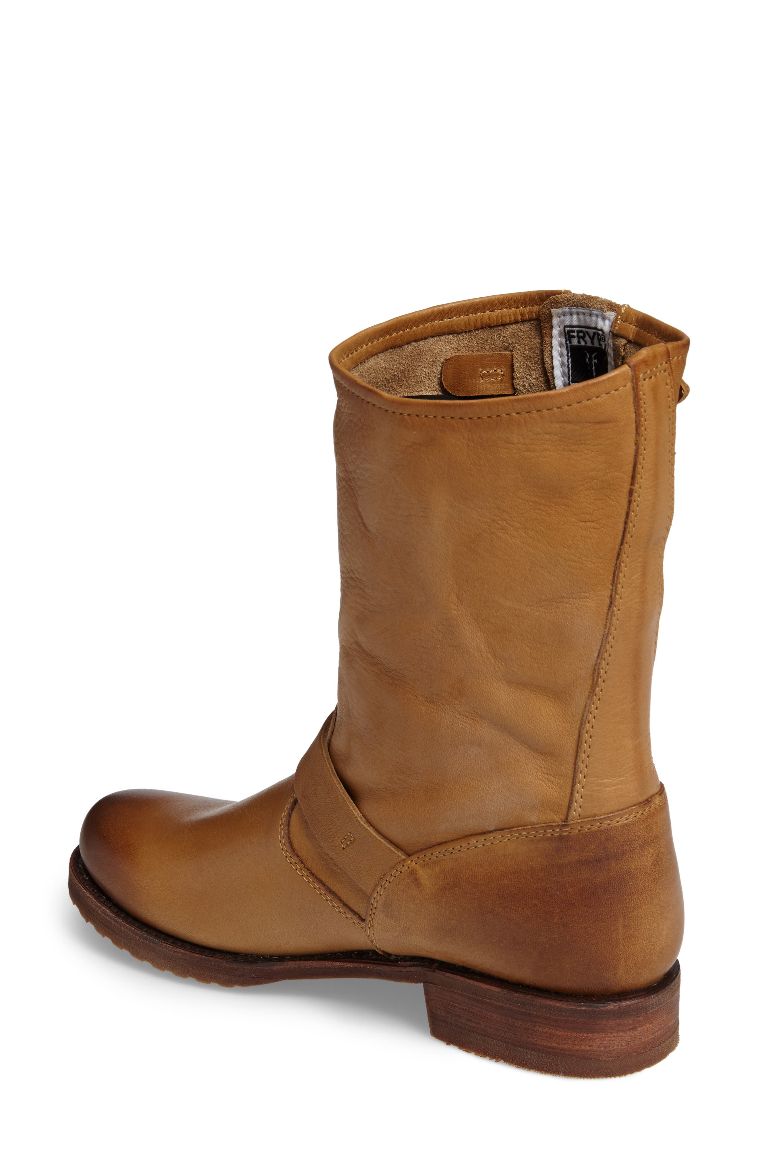 'Veronica Short' Slouchy Boot,                             Alternate thumbnail 30, color,