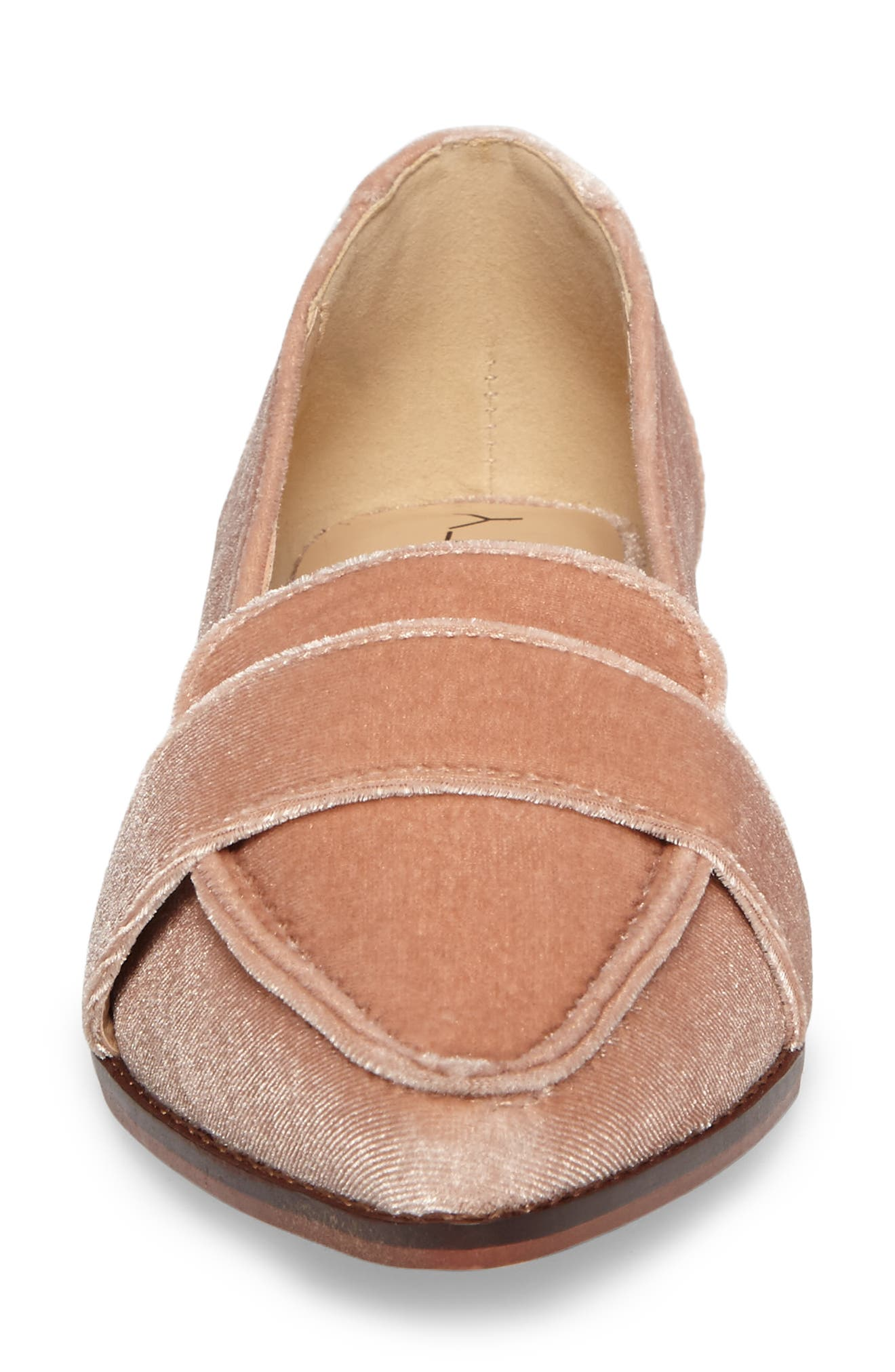Edie Pointy Toe Loafer,                             Alternate thumbnail 41, color,