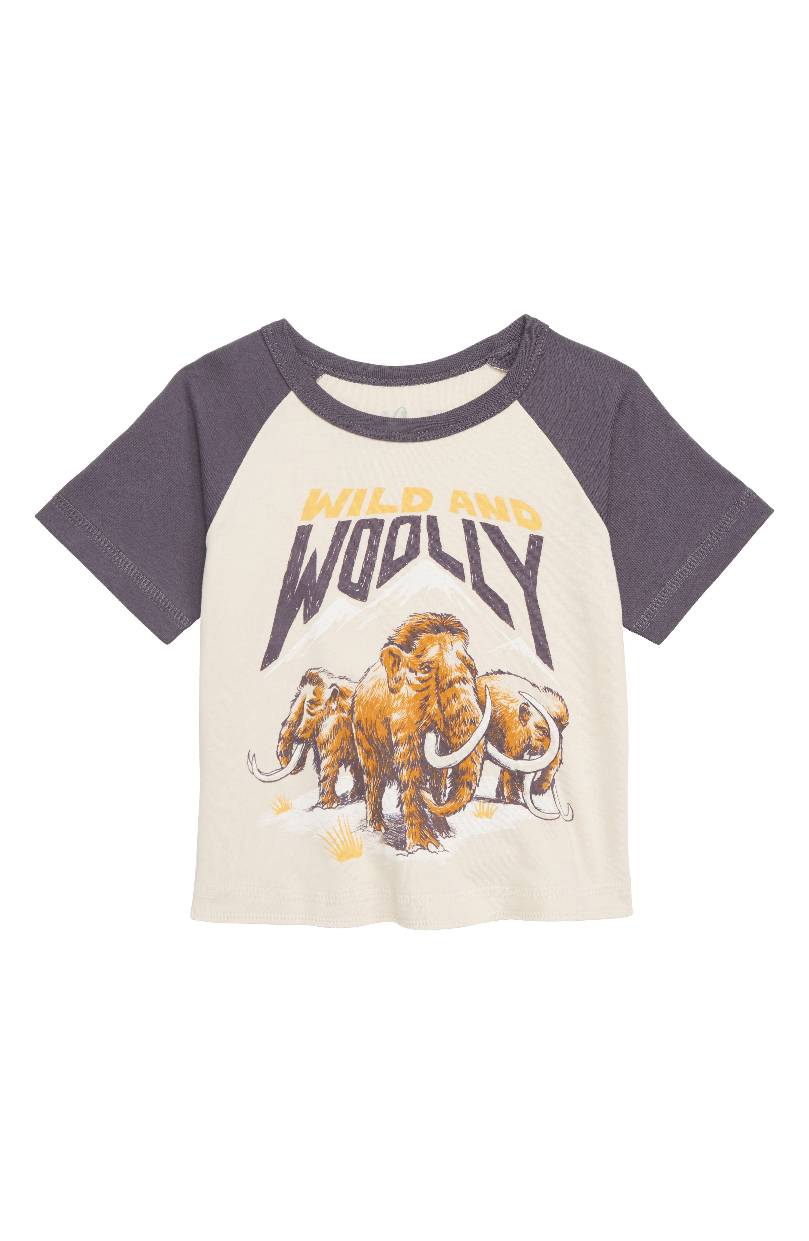 Peek Wild & Woolly T-Shirt,                         Main,                         color, SAND