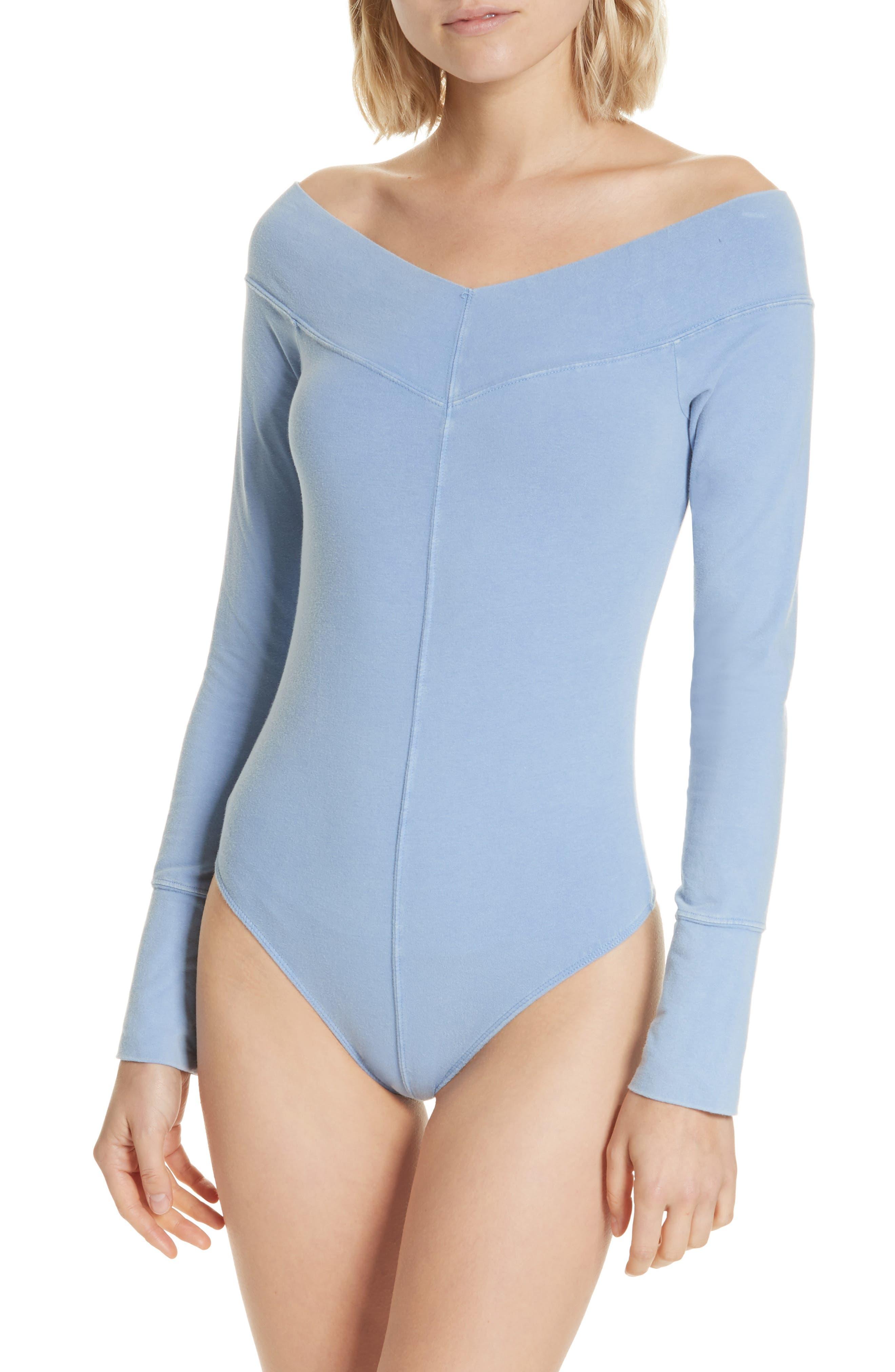 Zone Out Bodysuit,                             Alternate thumbnail 2, color,                             BLUE
