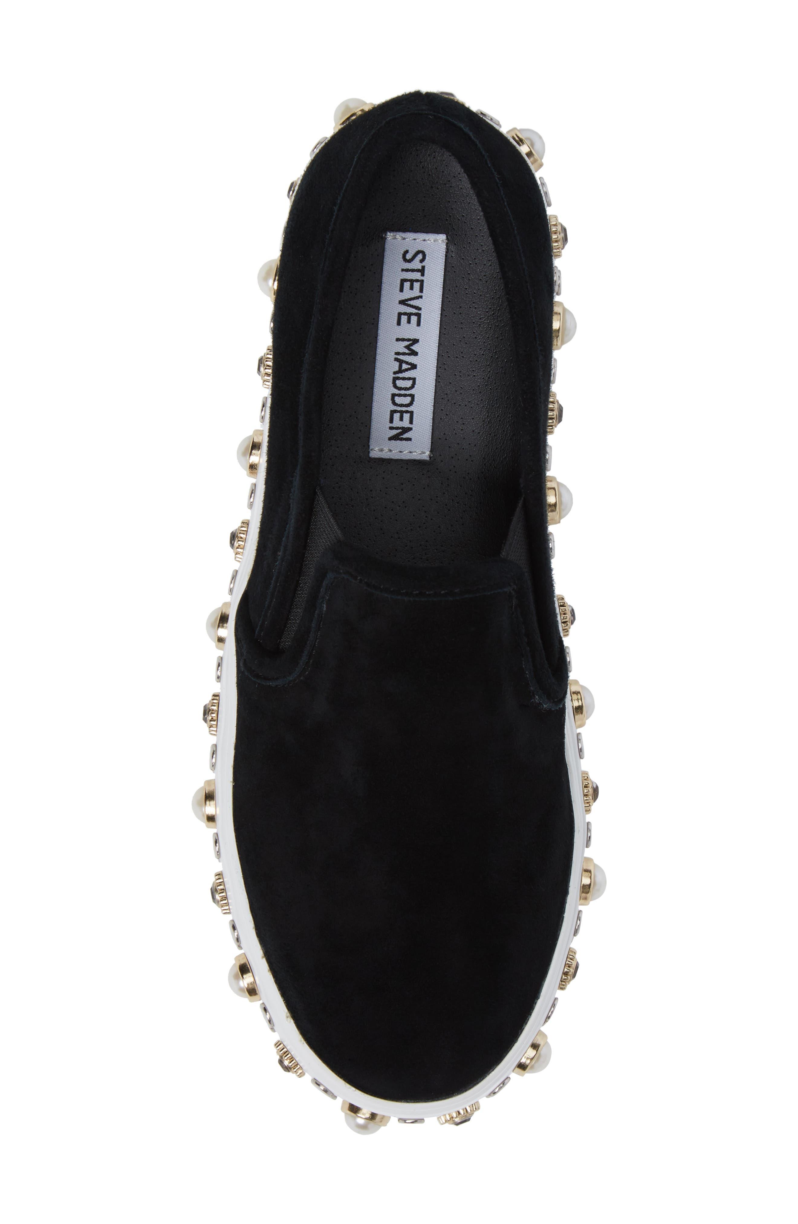 Glitzy Slip-On Sneaker,                             Alternate thumbnail 5, color,                             006