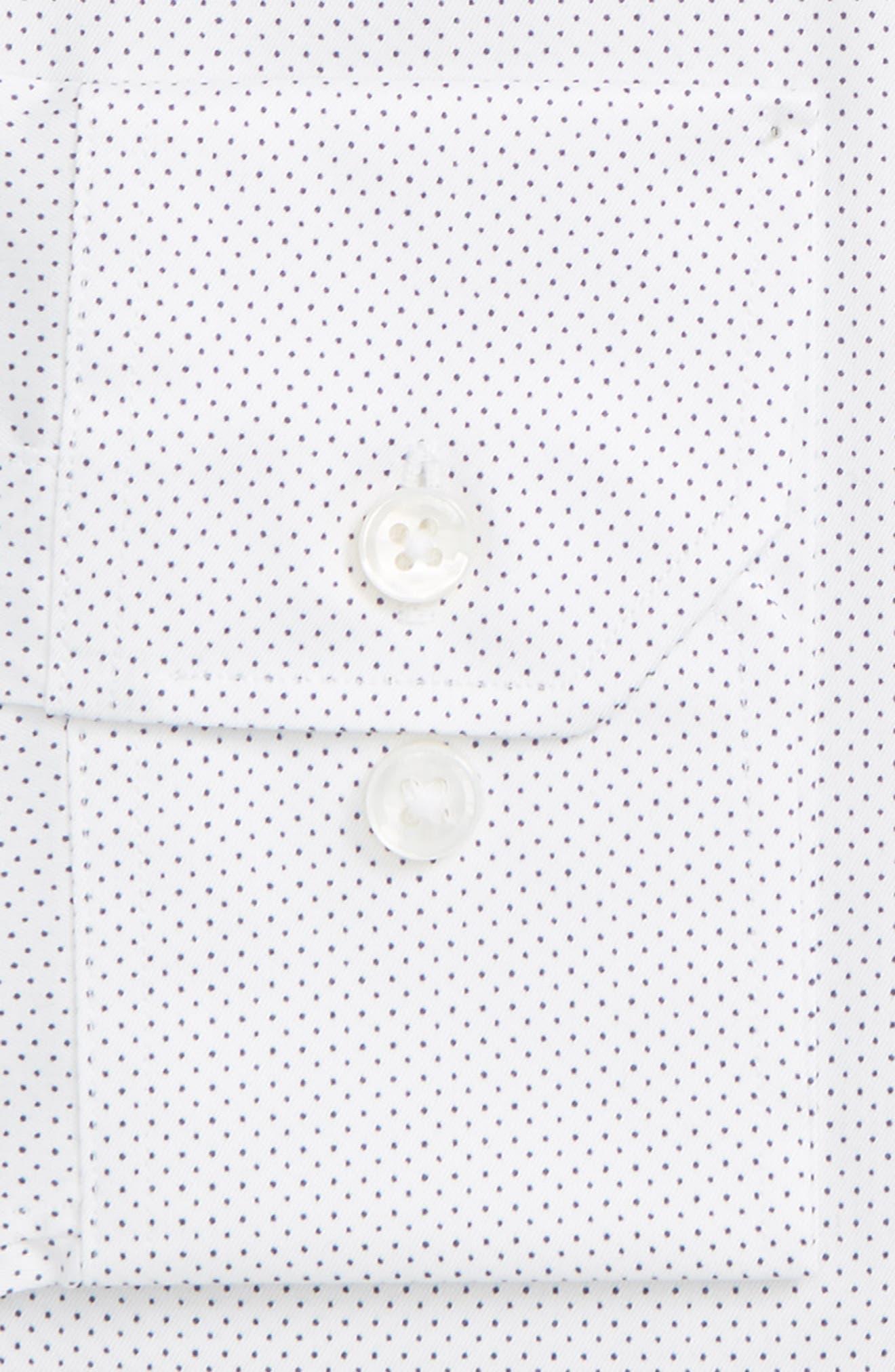 BONOBOS,                             Zino Trim Fit Dot Dress Shirt,                             Alternate thumbnail 2, color,                             400