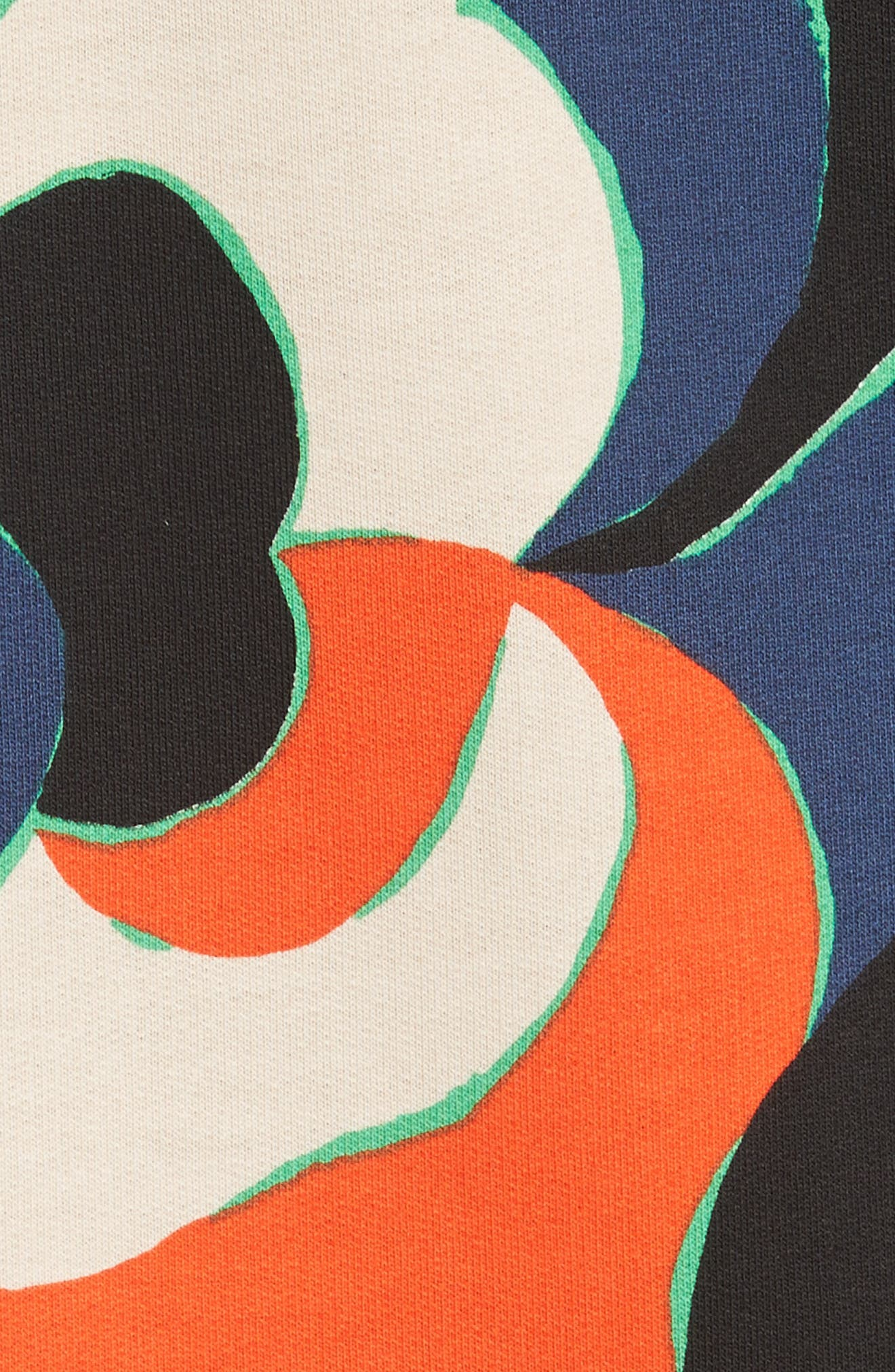 Print Cotton Tee,                             Alternate thumbnail 9, color,