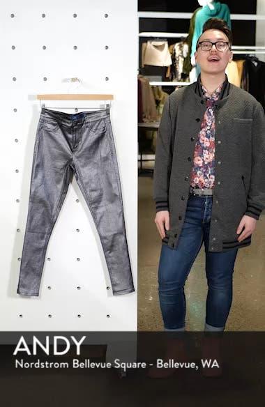 Metallic Coated Skinny Jeans, sales video thumbnail
