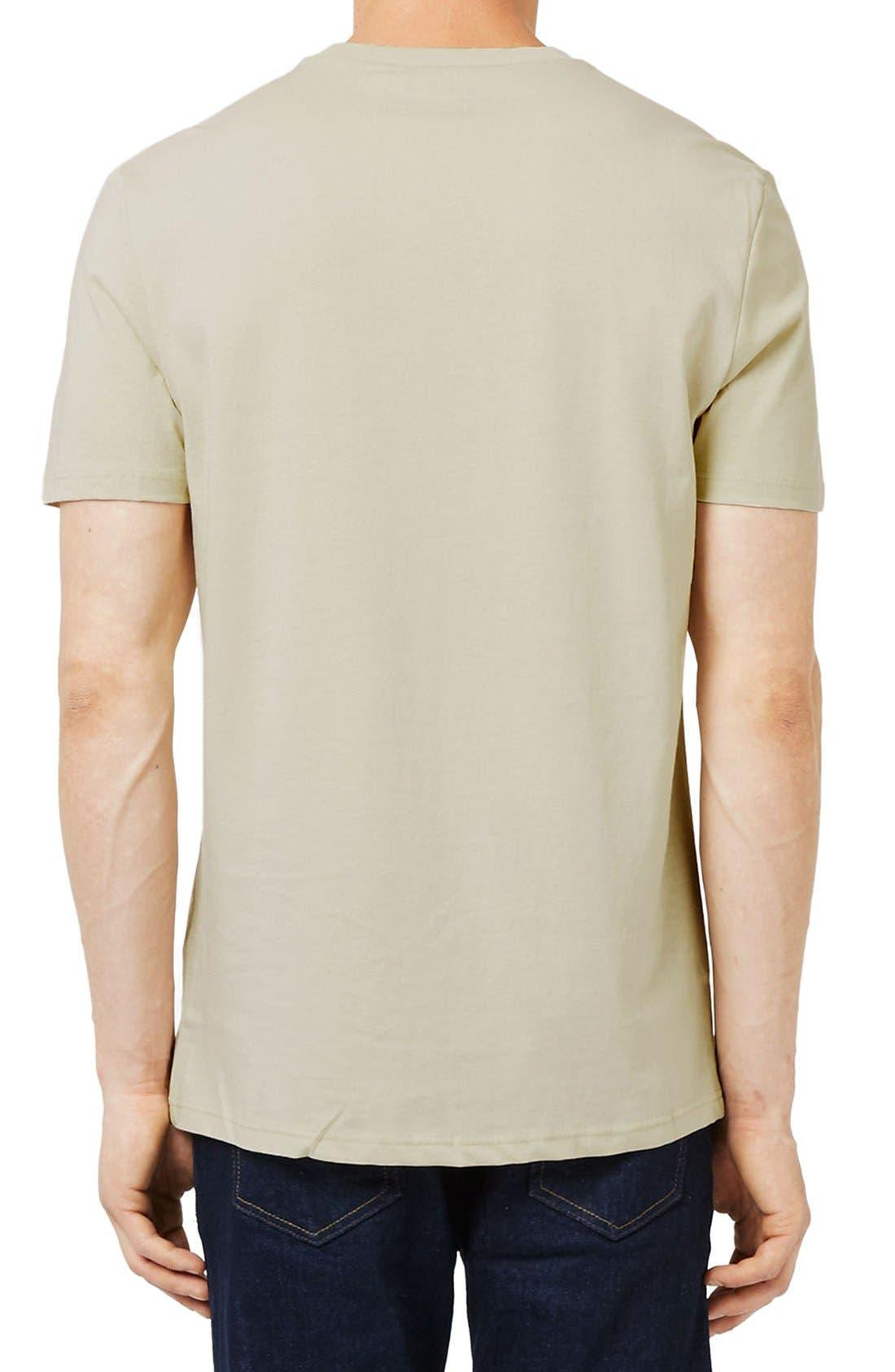Slim Fit Crewneck T-Shirt,                             Alternate thumbnail 330, color,