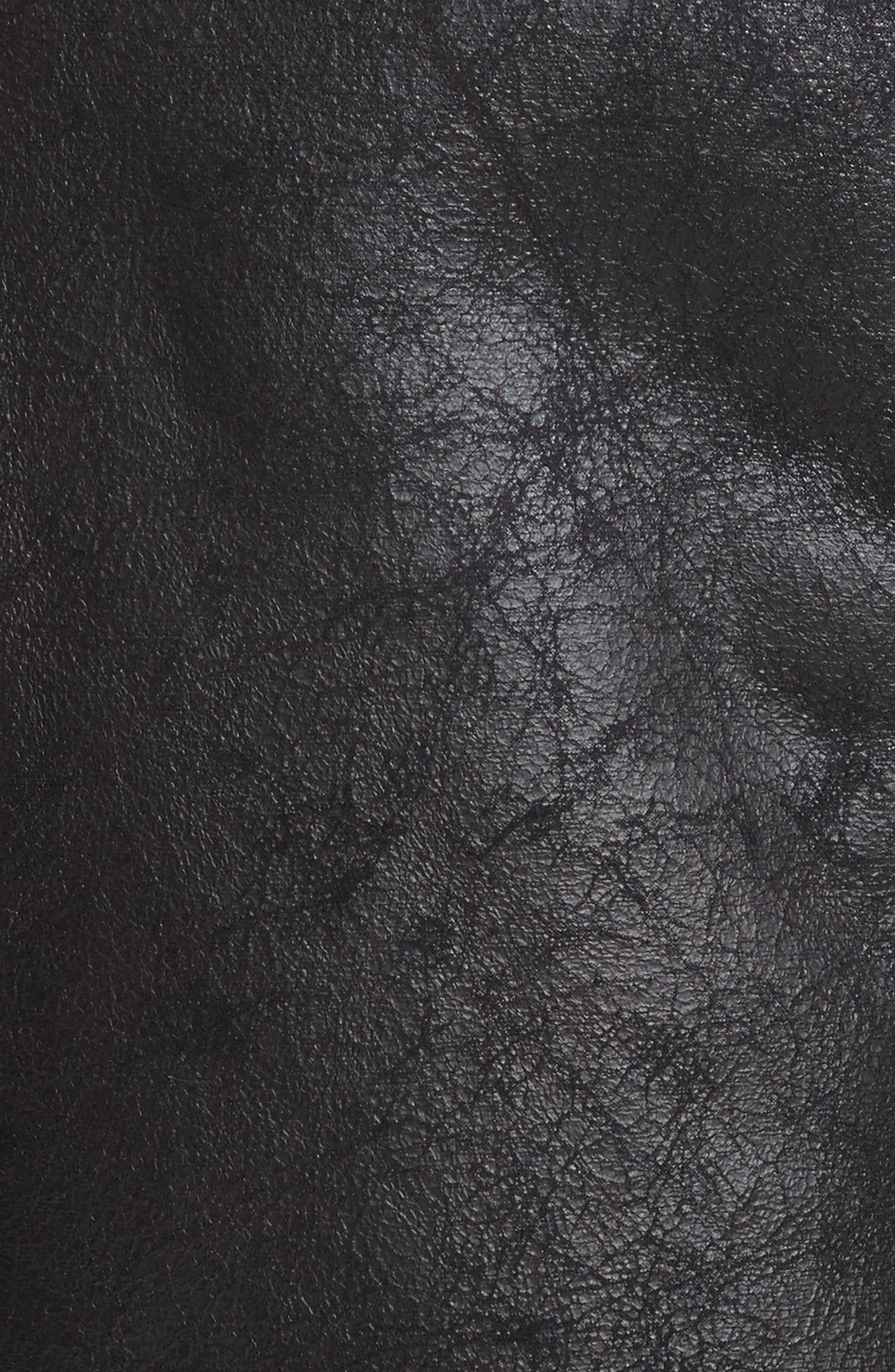Danay Faux Shearling Vest,                             Alternate thumbnail 6, color,                             002
