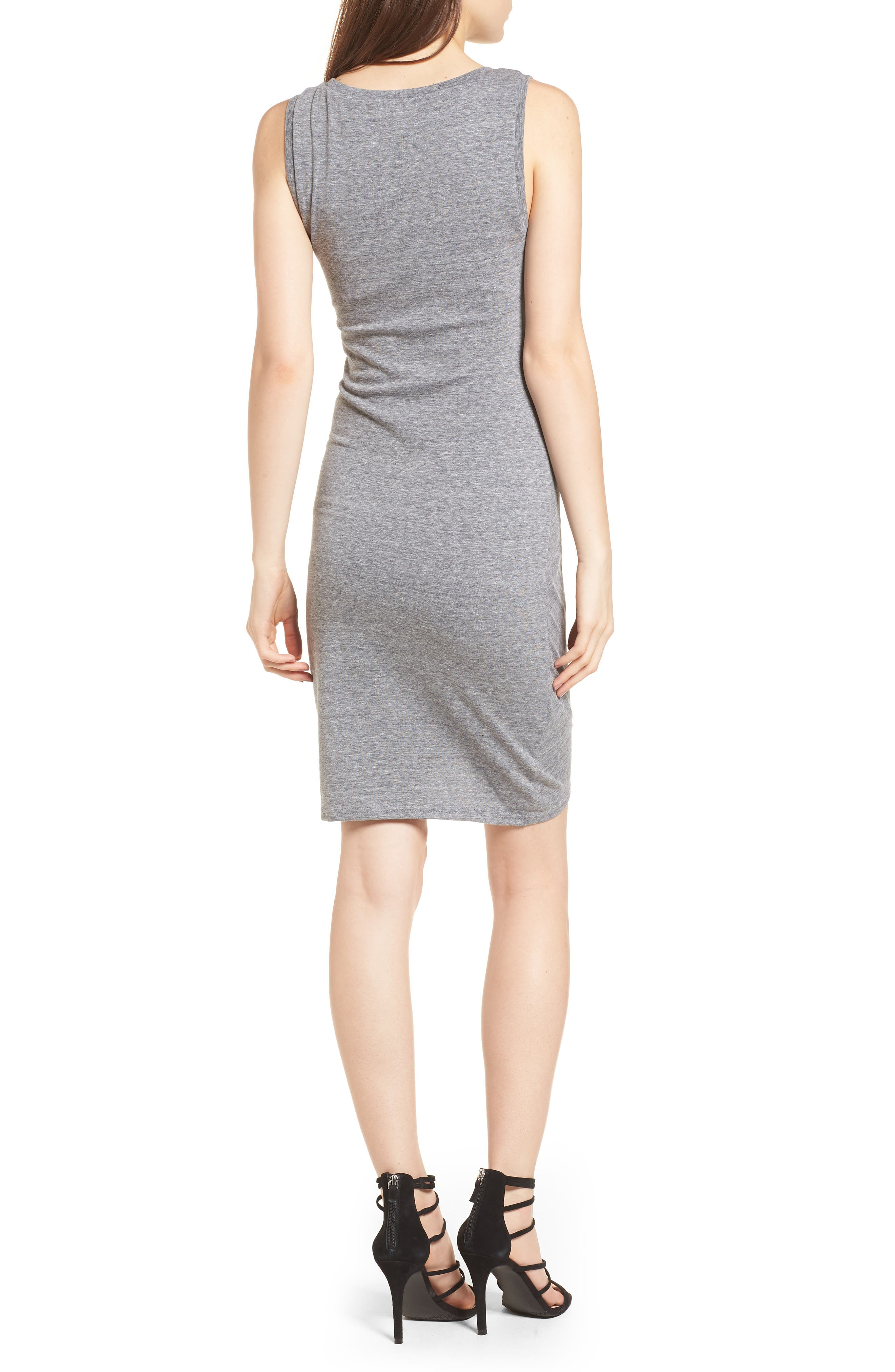 Ruched Body-Con Tank Dress,                             Alternate thumbnail 92, color,