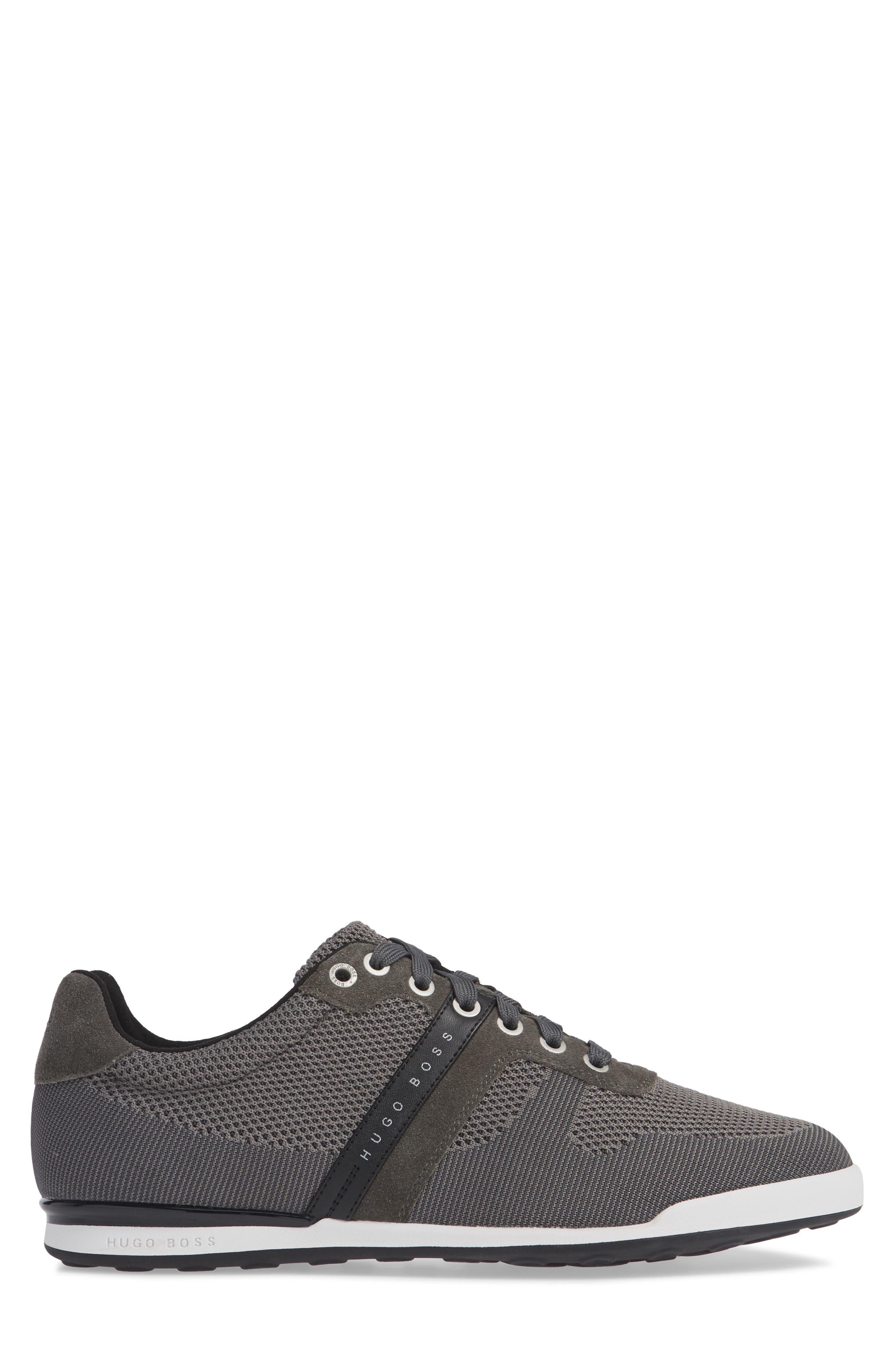 Hugo Boss Arkansas Lace-Up Sneaker,                             Alternate thumbnail 3, color,                             021