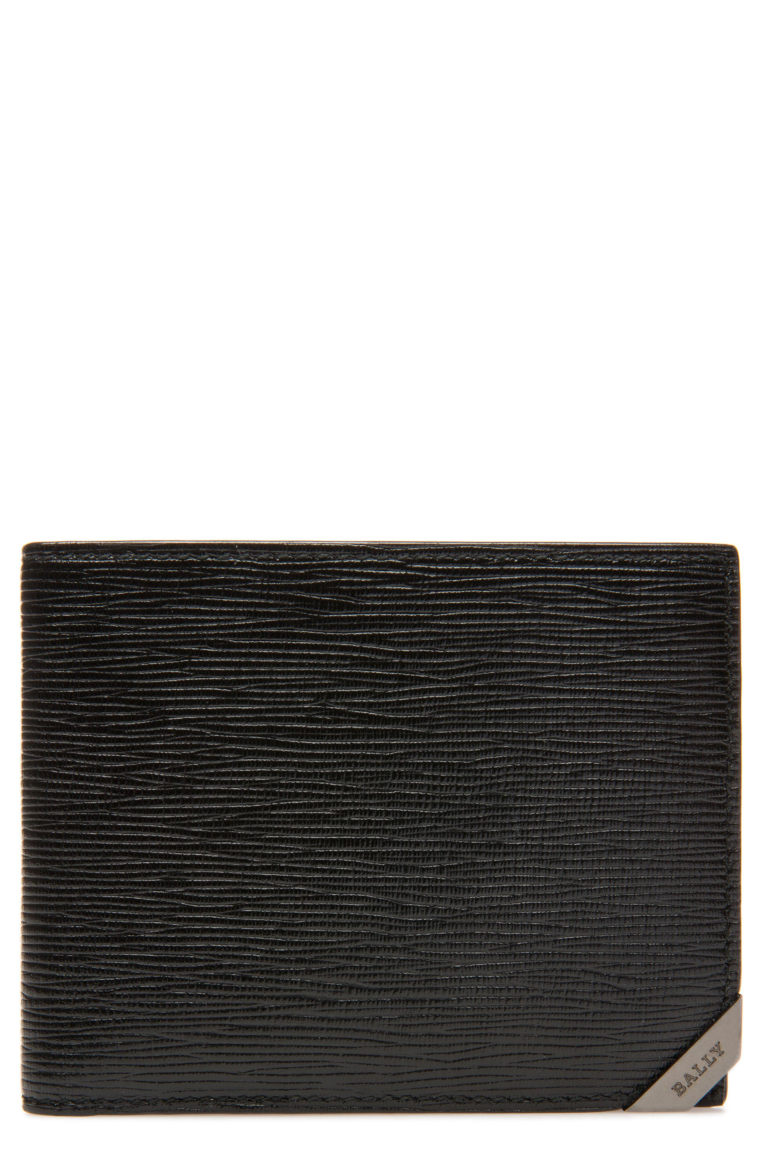 Bevye Leather Wallet,                         Main,                         color, 001