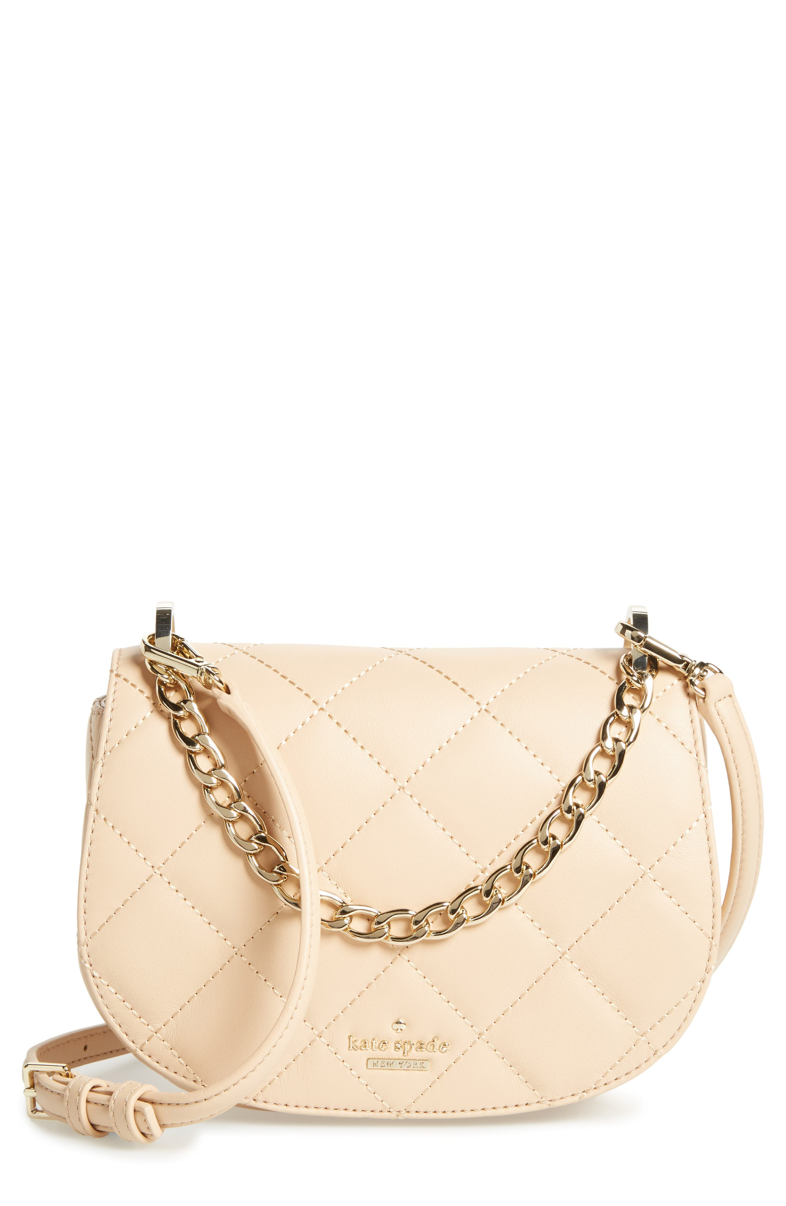 emerson place - rita quilted leather crossbody bag,                             Main thumbnail 2, color,