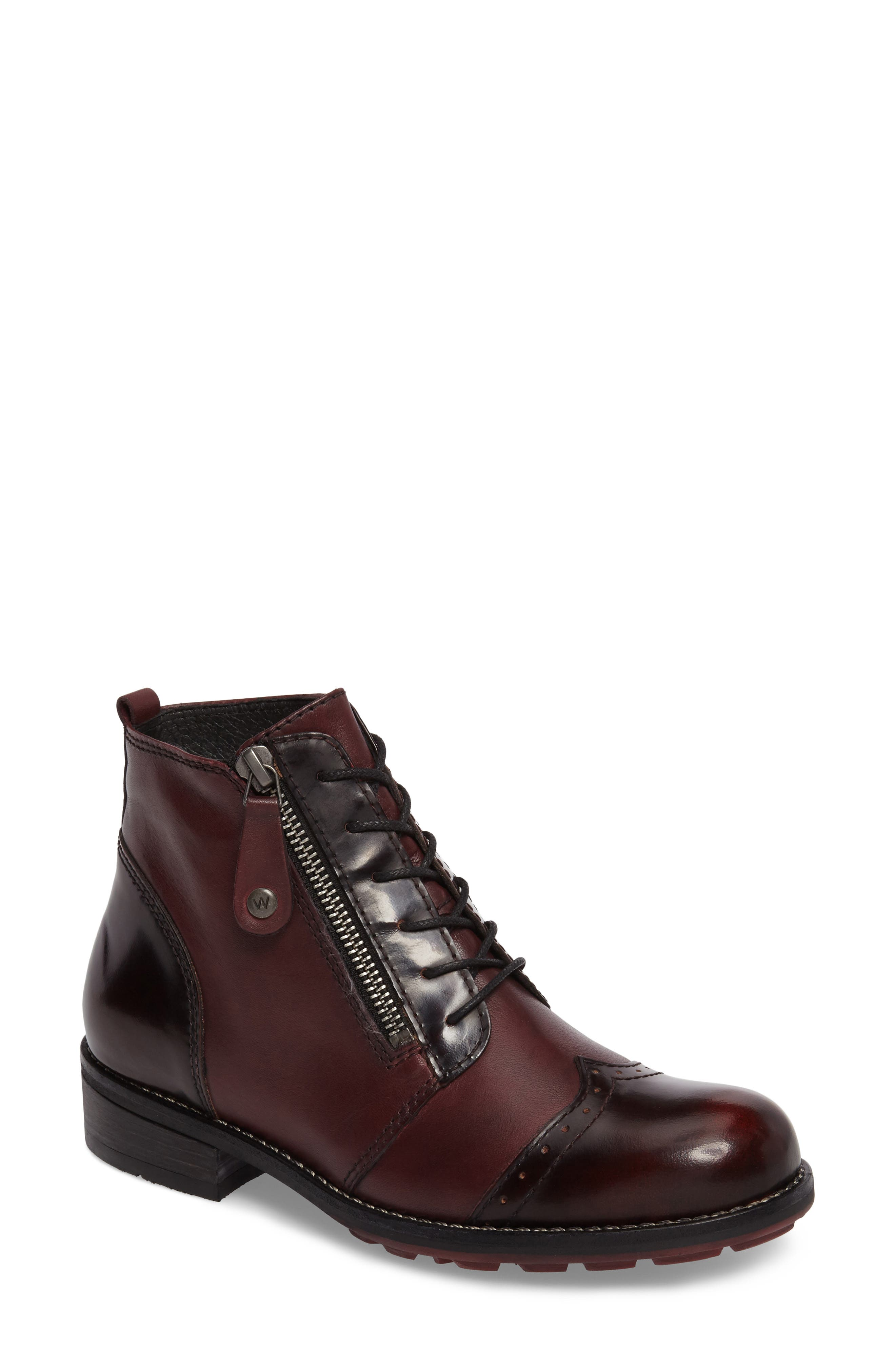 Wolky Millstream Boot - Red