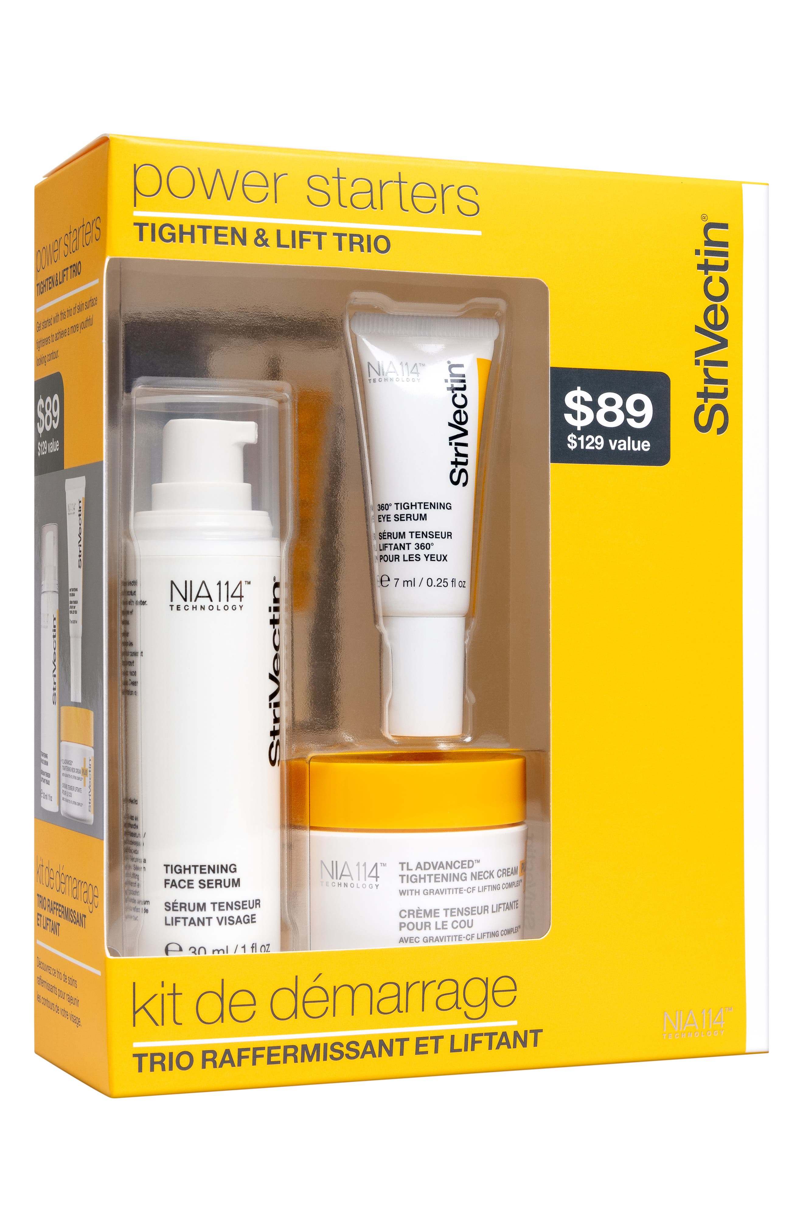 StriVectin Power Starters Tightening Trio,                             Main thumbnail 1, color,                             000